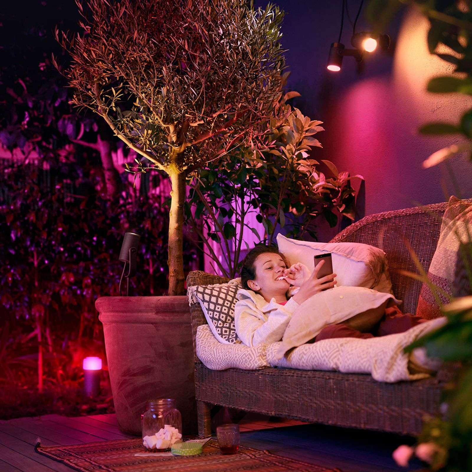 Philips Hue-LED-spotti Lily 3 kpl:n perussettinä-7534054-01