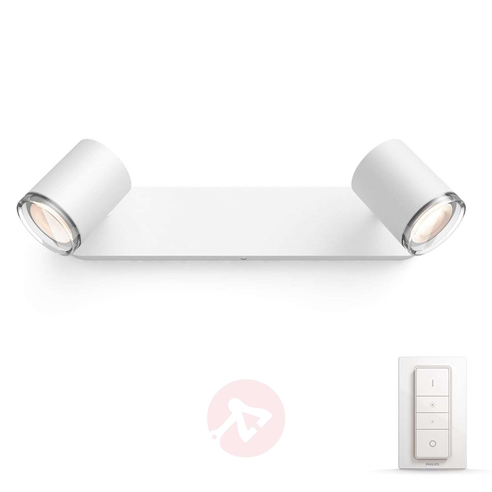 Philips Hue White Ambiance Adore, LED-spotti 2-l.-7534072-01