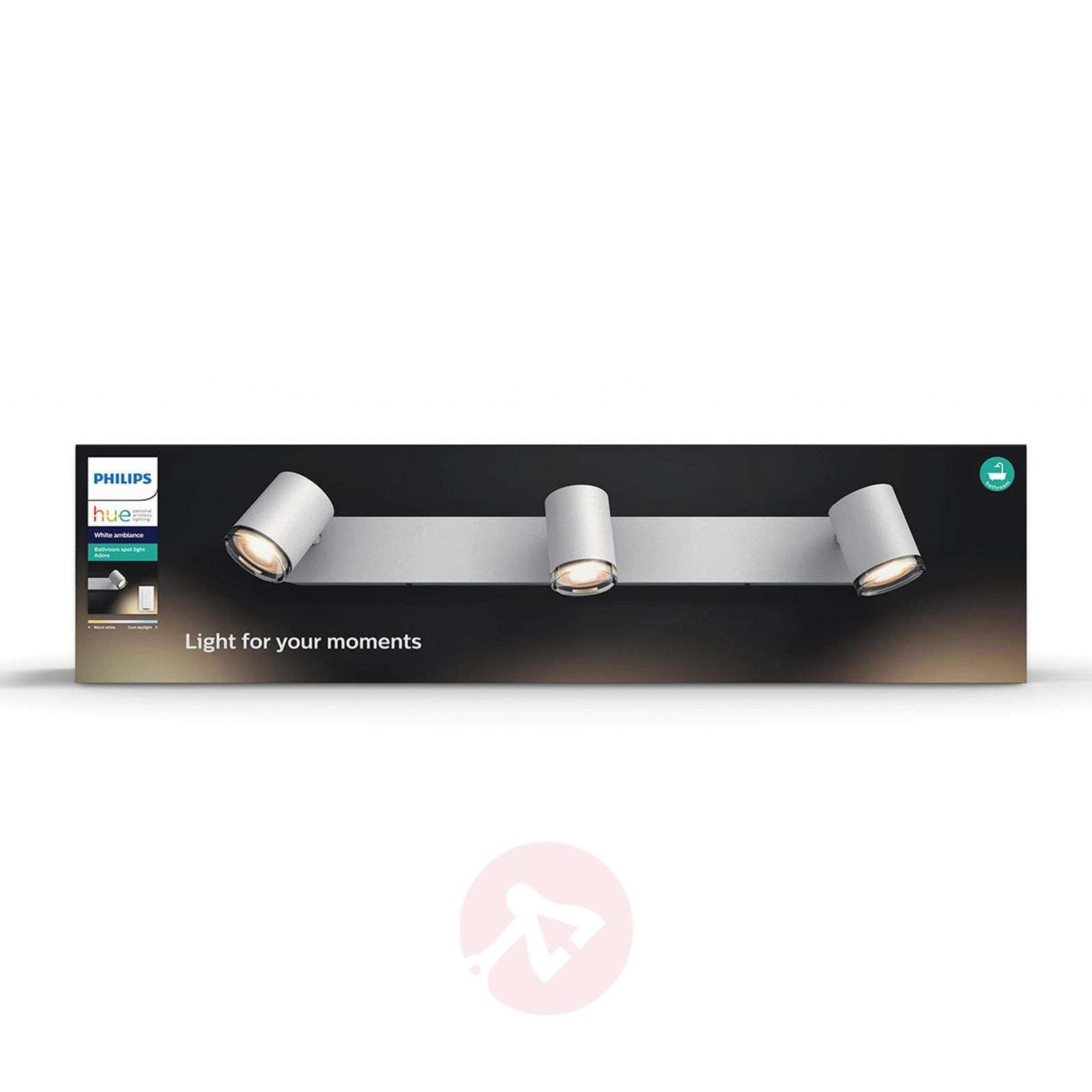 Philips Hue White Ambiance Adore, LED-spotti 3-l.-7534073-02