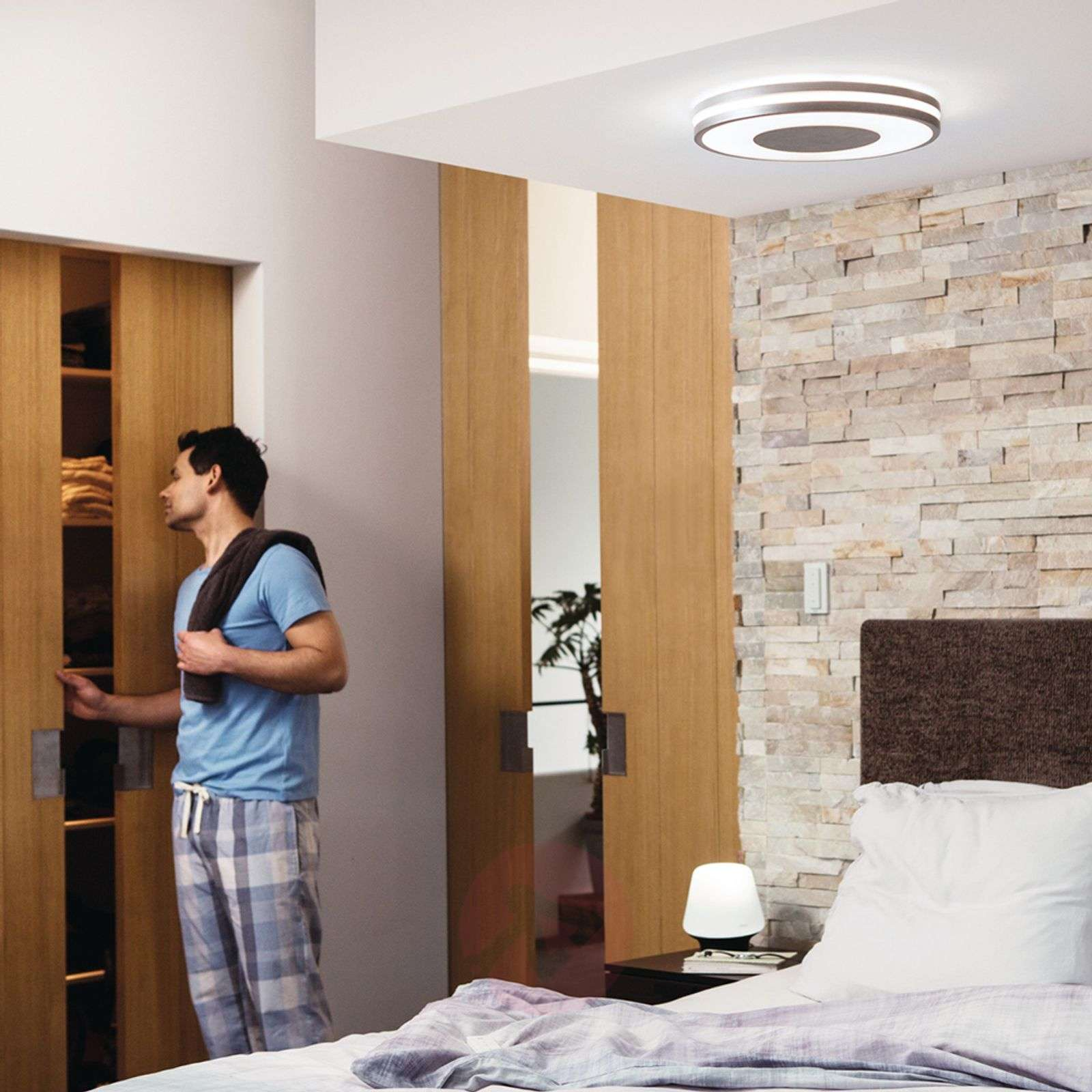 Philips Hue White Ambiance Being kattovalaisin alu-7531864-01