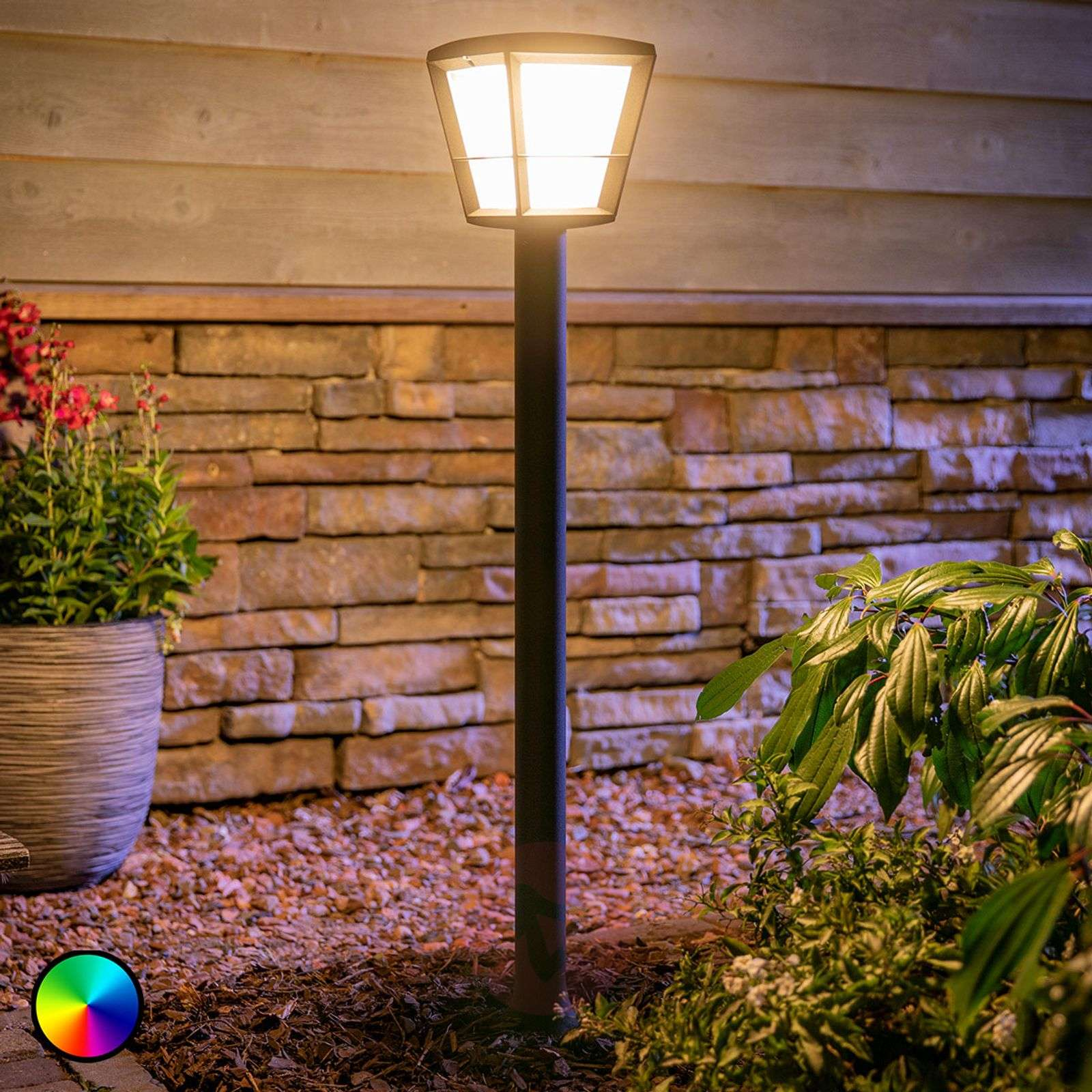Philips Hue White+Color Econic LED-pylväsvalaisin-7534120-02