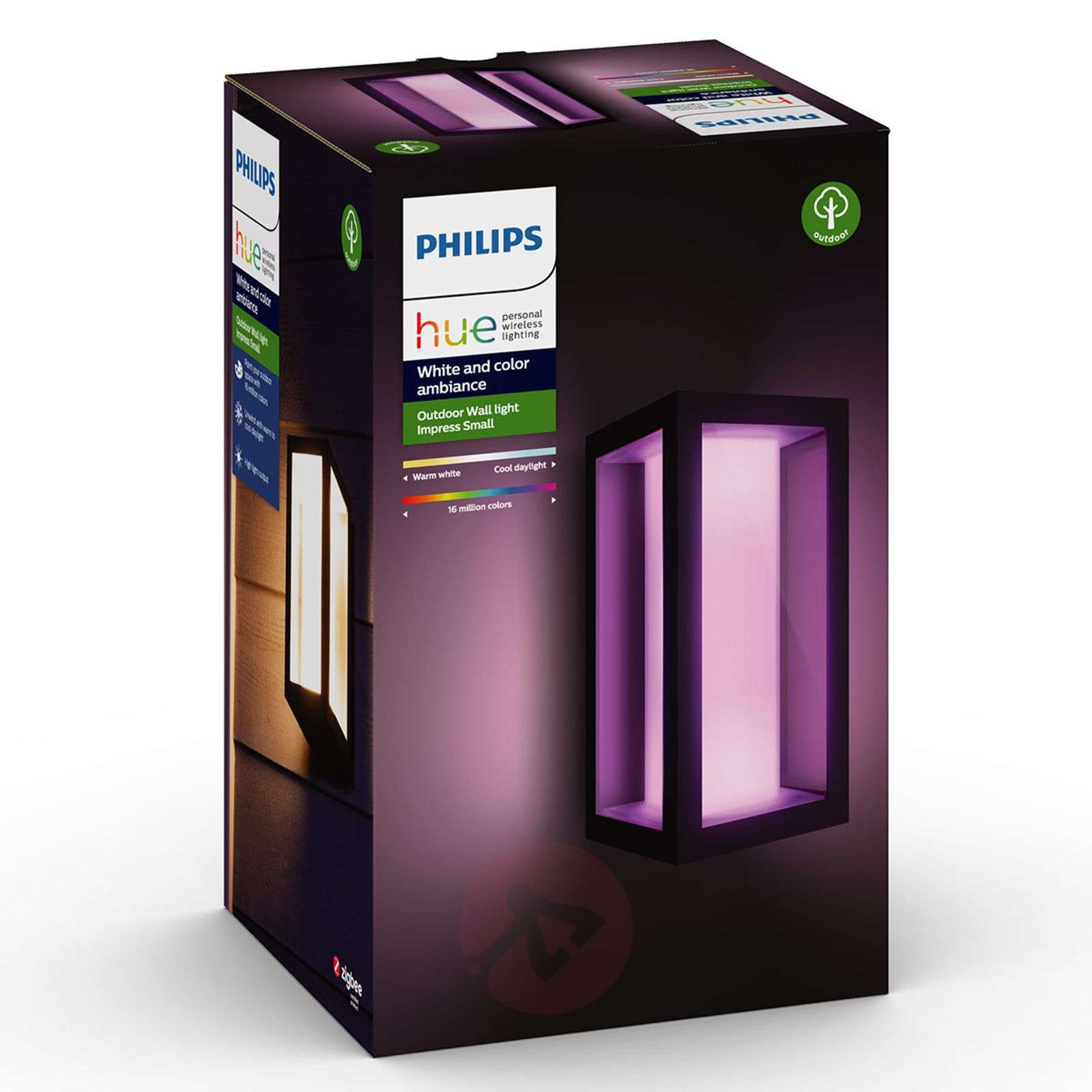 Philips Hue White+Color Impress seinävalo kapea-7534108-02