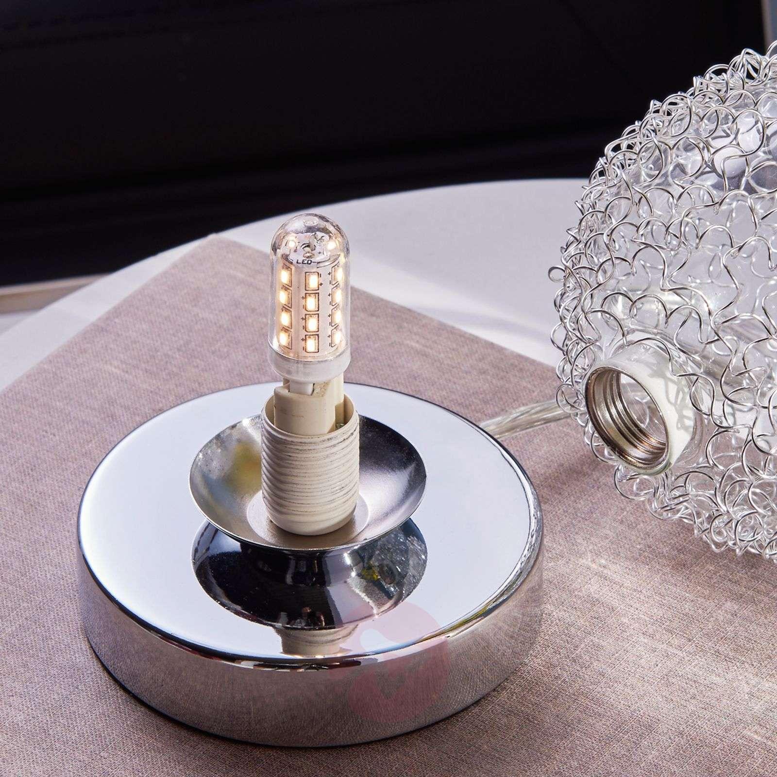 Pieni pöytävalaisin Ticino, G9-LED-9620785-03