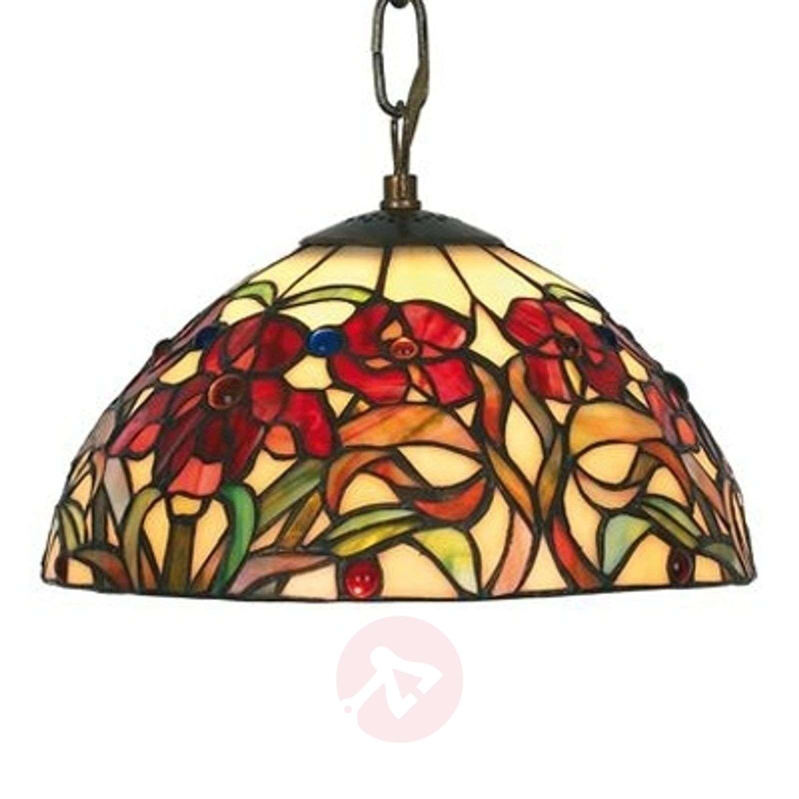 Pieni Tiffany-tyylinen Eline-riippuvalaisin-1032168-01
