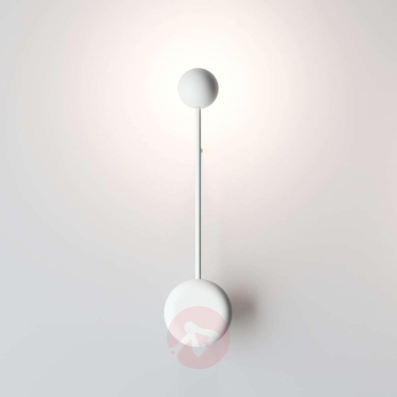 Pin LED-seinävalaisin valkoisena-9515104-03