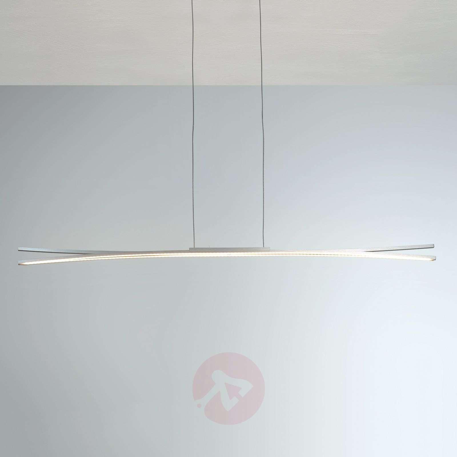 Pitkä LED-riippuvalaisin Convex, LED-nauhat-1556118-01