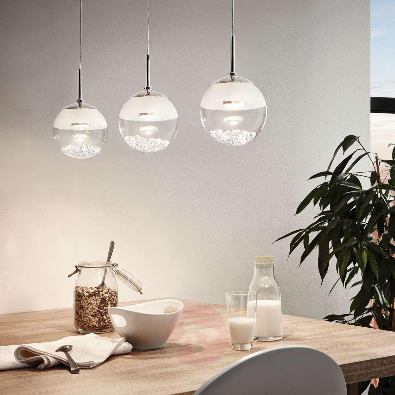 Pitkä LED-riippuvalaisin Montefio, kristallia-3031617-02