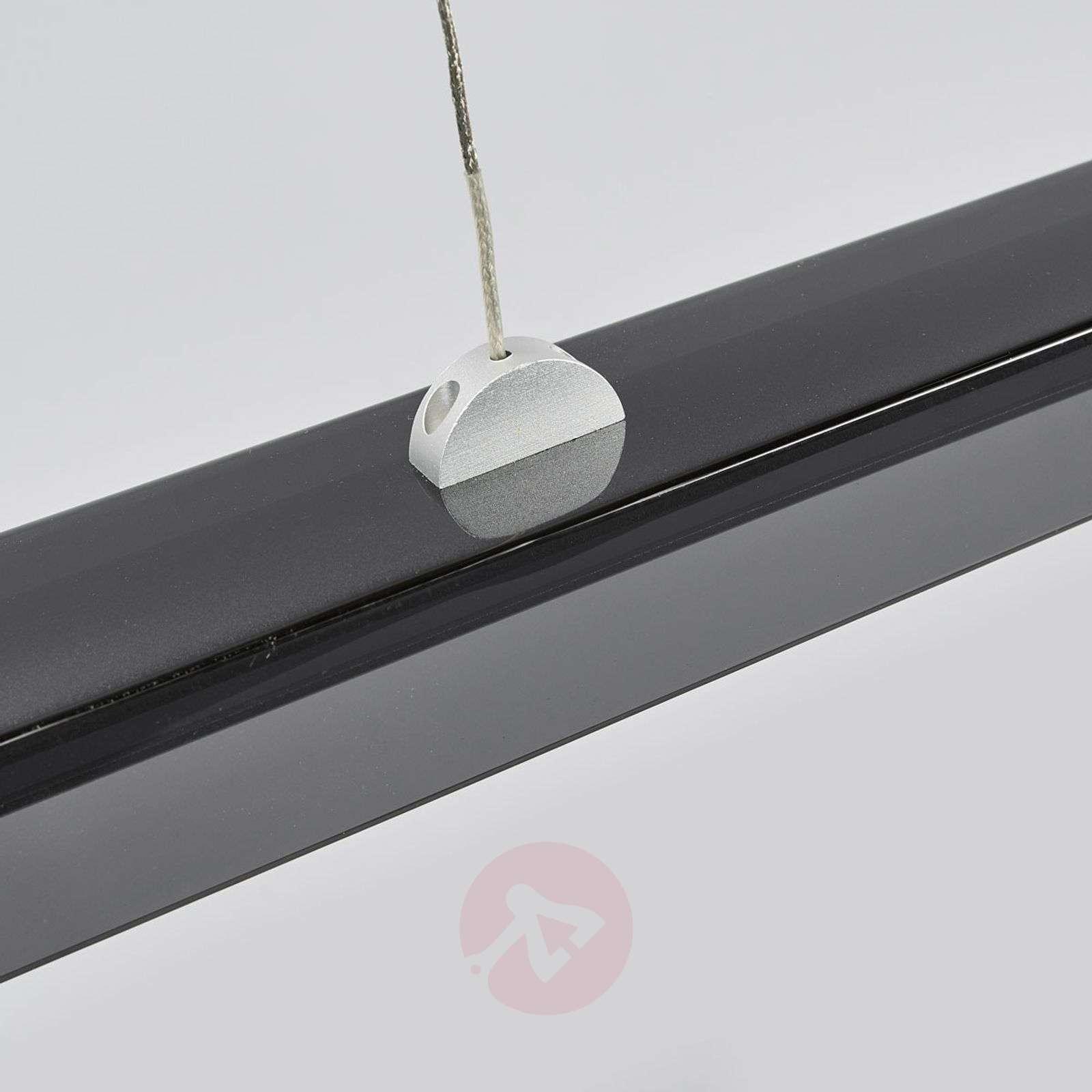 Pitkänmallinen LED-riippuvalo Jethro, savunharmaa-9640074-02