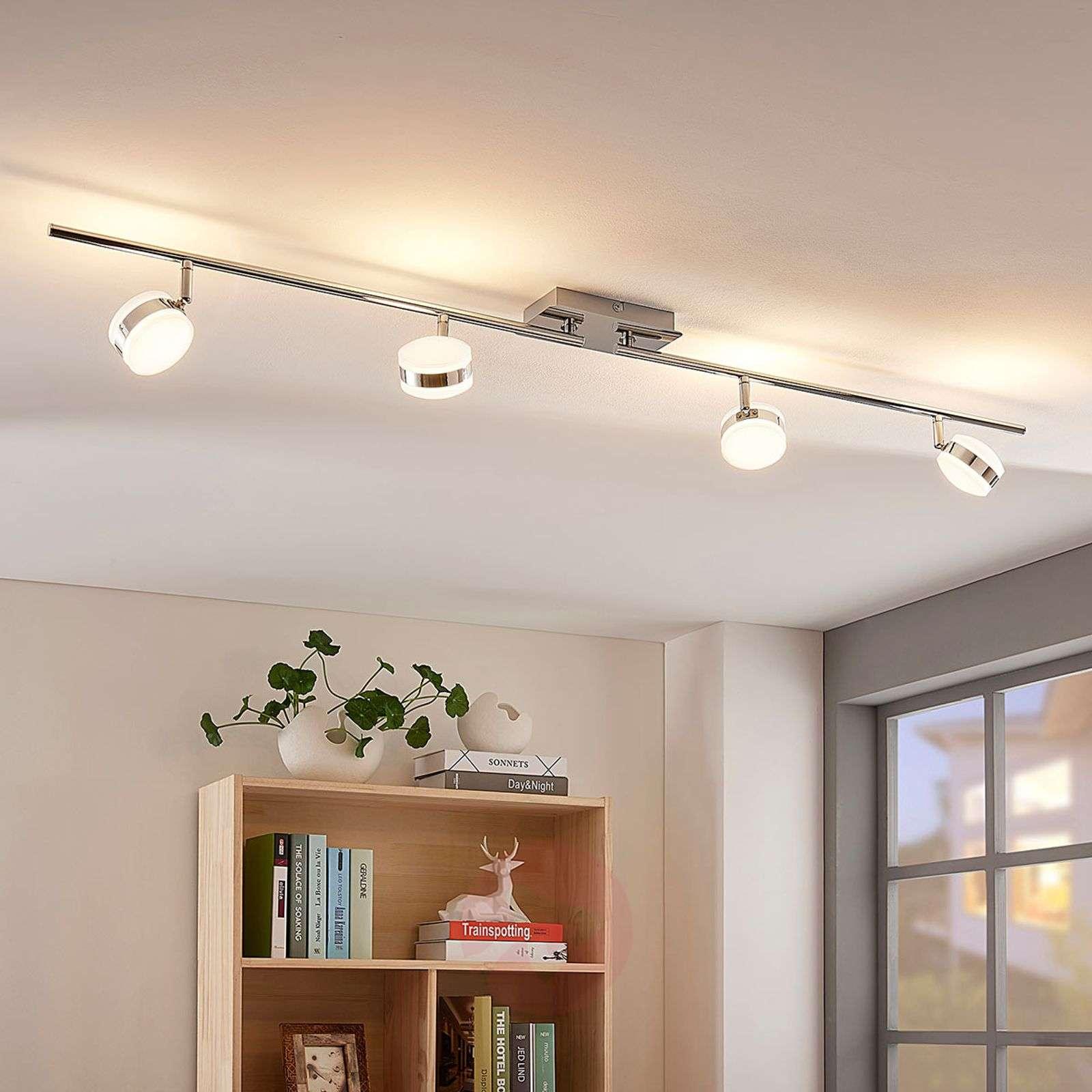 Pitkänomainen LED-kattovalaisin Ksenija himmennet.-9621733-03