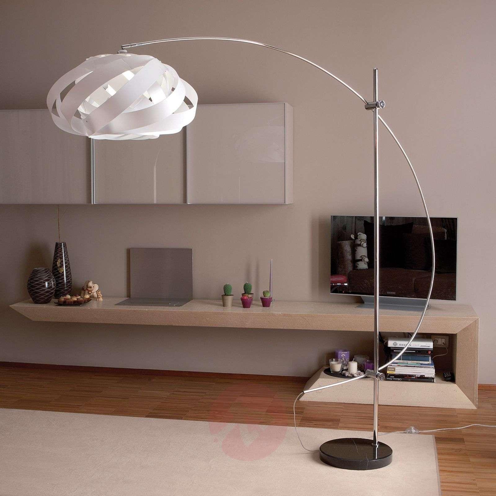 Plaza-kaarilamppu, valkoinen