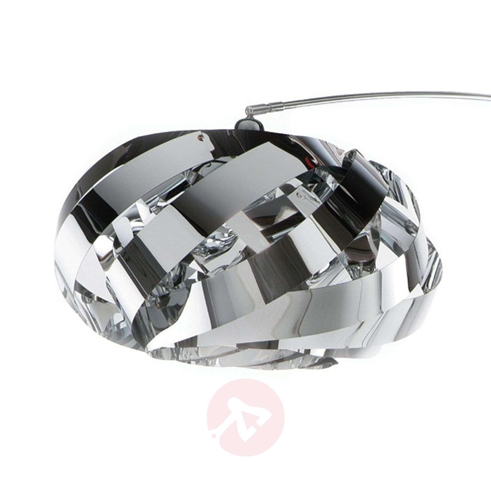 Plaza moderni ja miellyttävä kaarilamppu, kromi-1056041-01