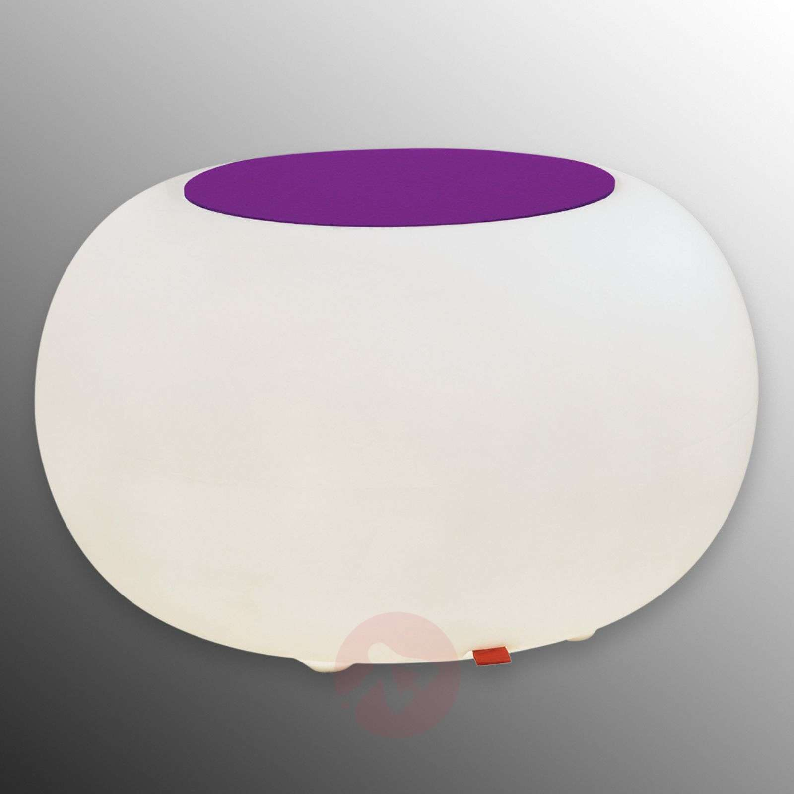 Pöytä Bubble, valo LED RGB + huopa violetti-6537072-01