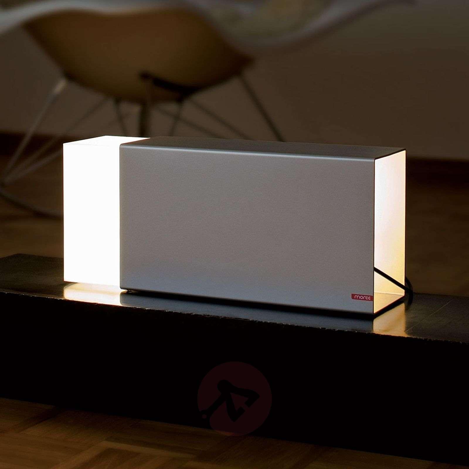Pöytävalaisin Eraser 380 silver-6537003-01
