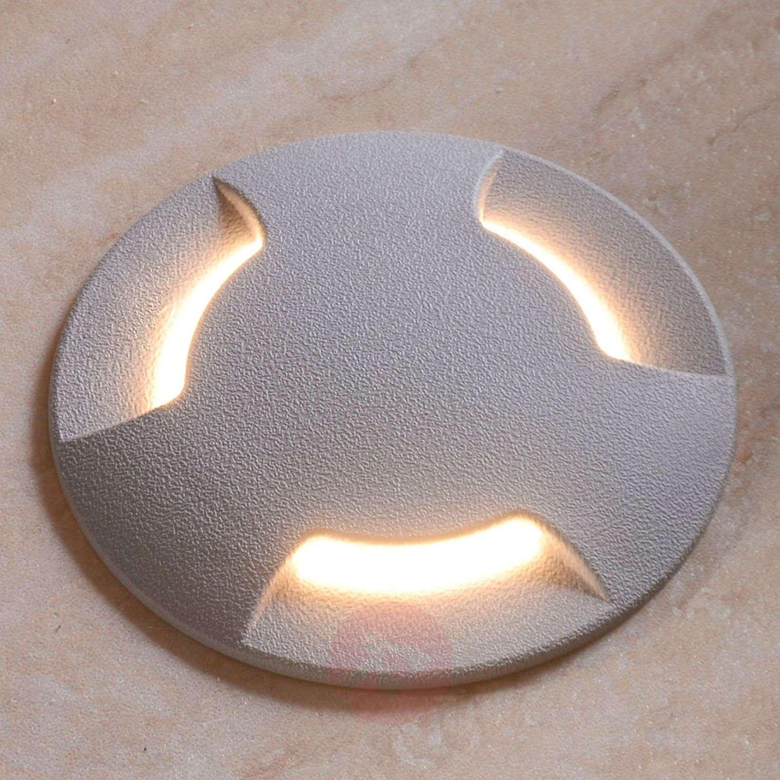 Pohjaan upotettava CECI 120-2L-LED-valo