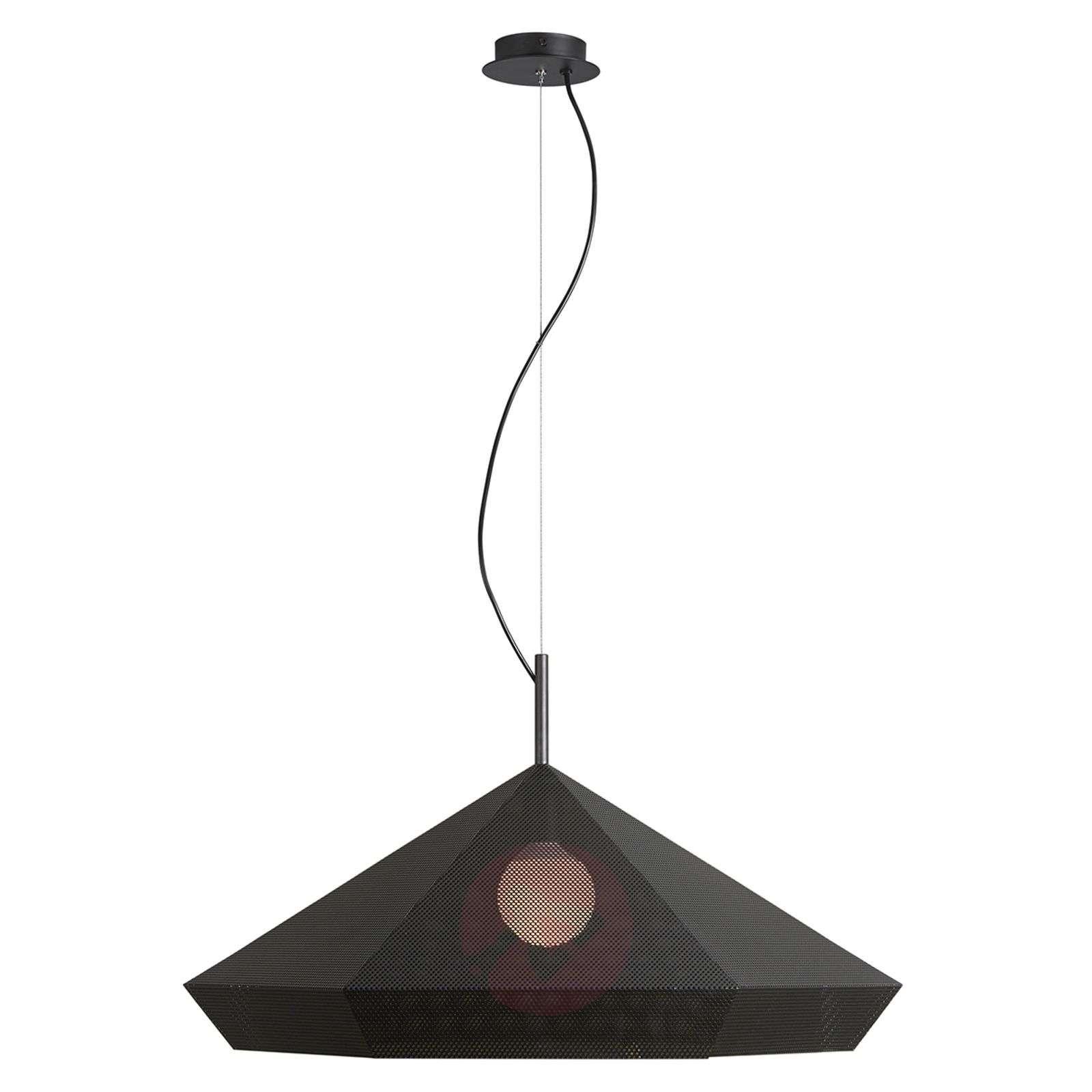 Priamo design-riippuvalaisin, musta, 77 cm-4011739-01