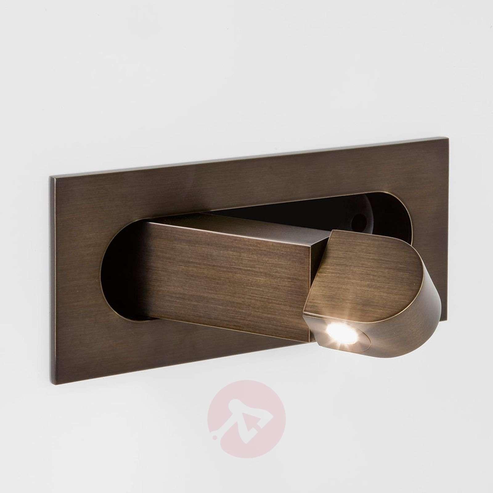 Pronssi LED-seinävalaisin Digit lukuvarrella-1020478-03
