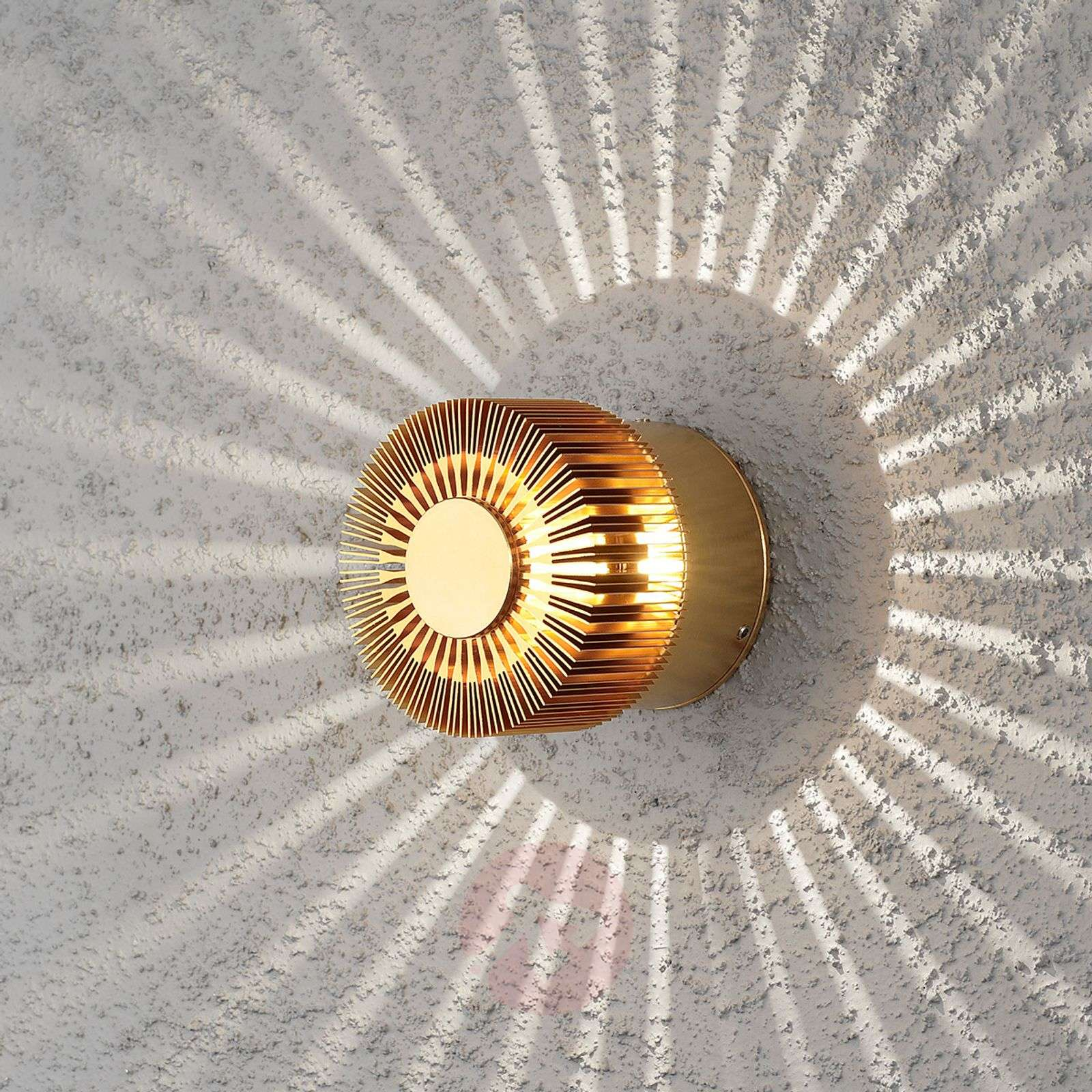 Pronssin värinen LED-ulkoseinävalaisin Monza-5522453-01