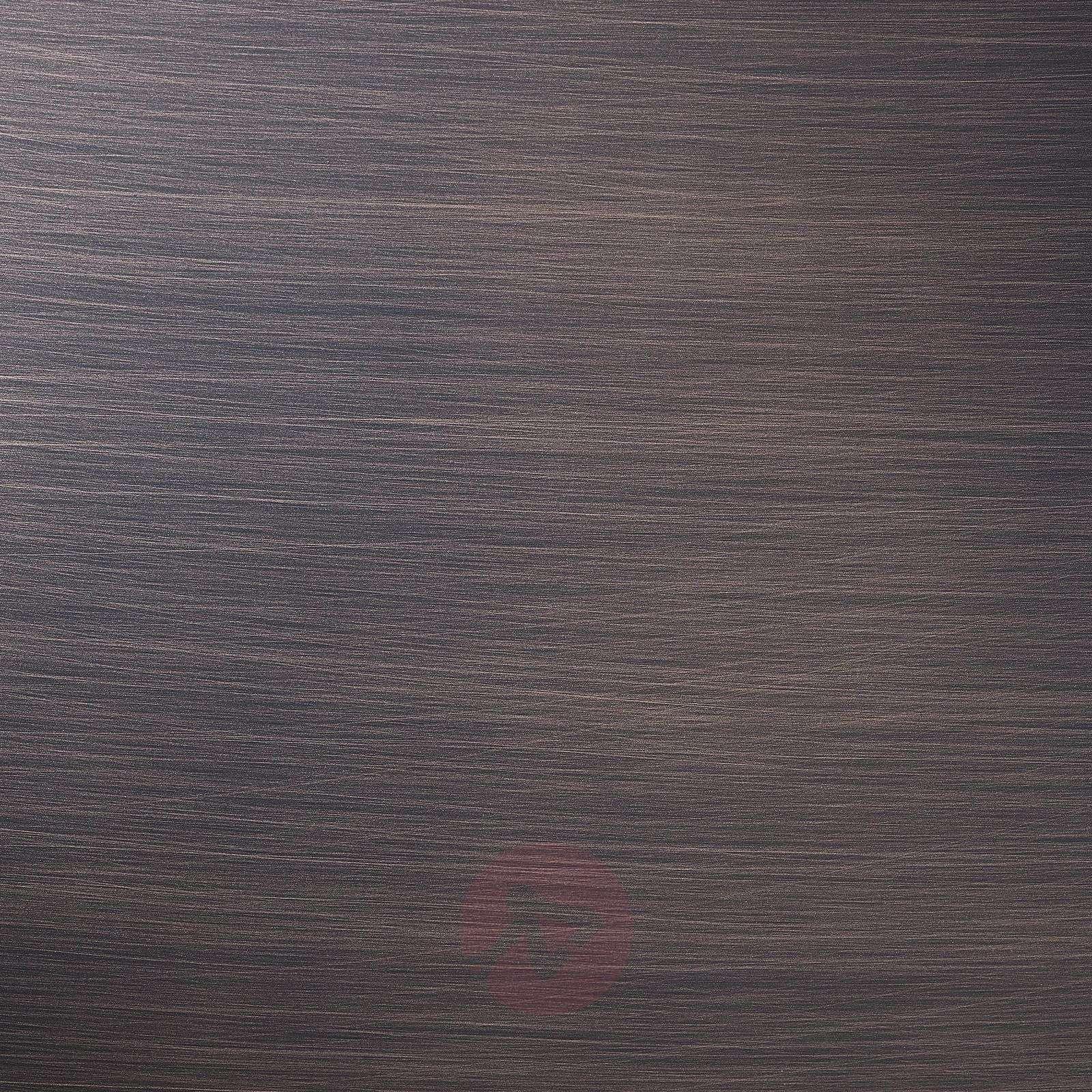Pronssinvärinen LED-seinävalaisin Alalunga-5501114-01