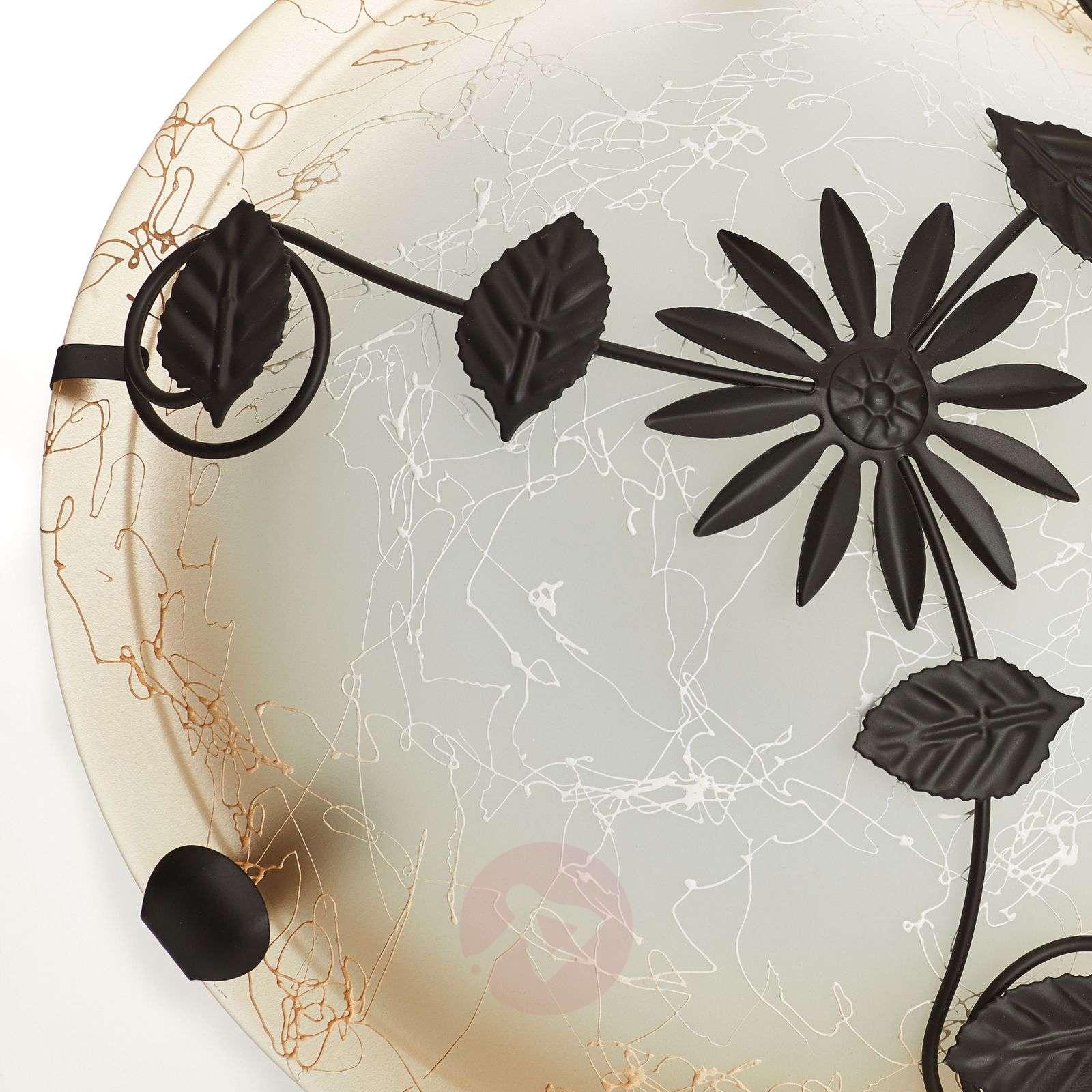 Provence-kattovalaisin kukkakoristelulla-1508387-01