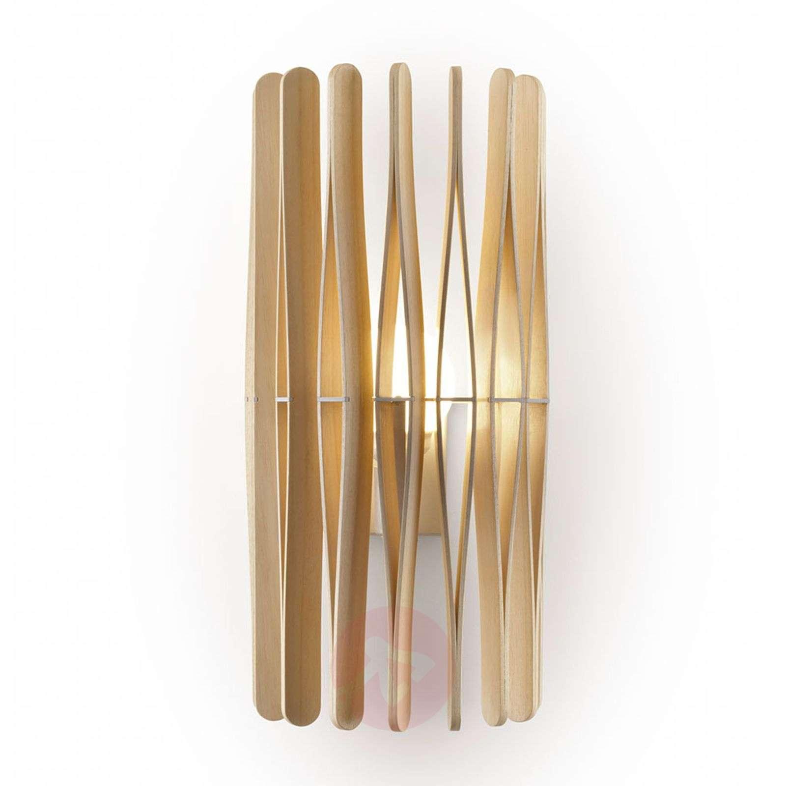 Puinen Fabbian Stick-seinävalaisin, lieriömäinen-3503202-01