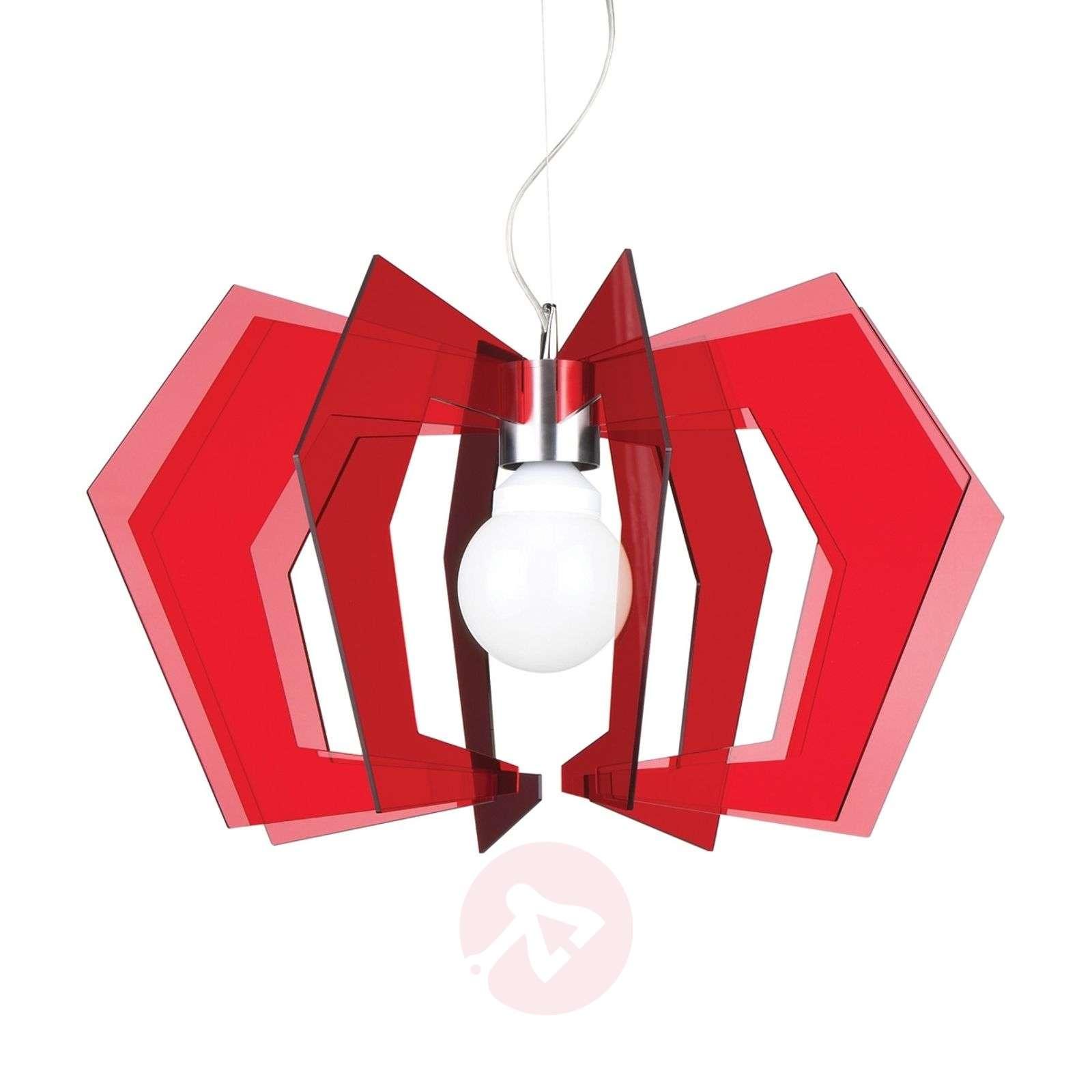 Punainen Spider-riippuvalaisin-1056002-01
