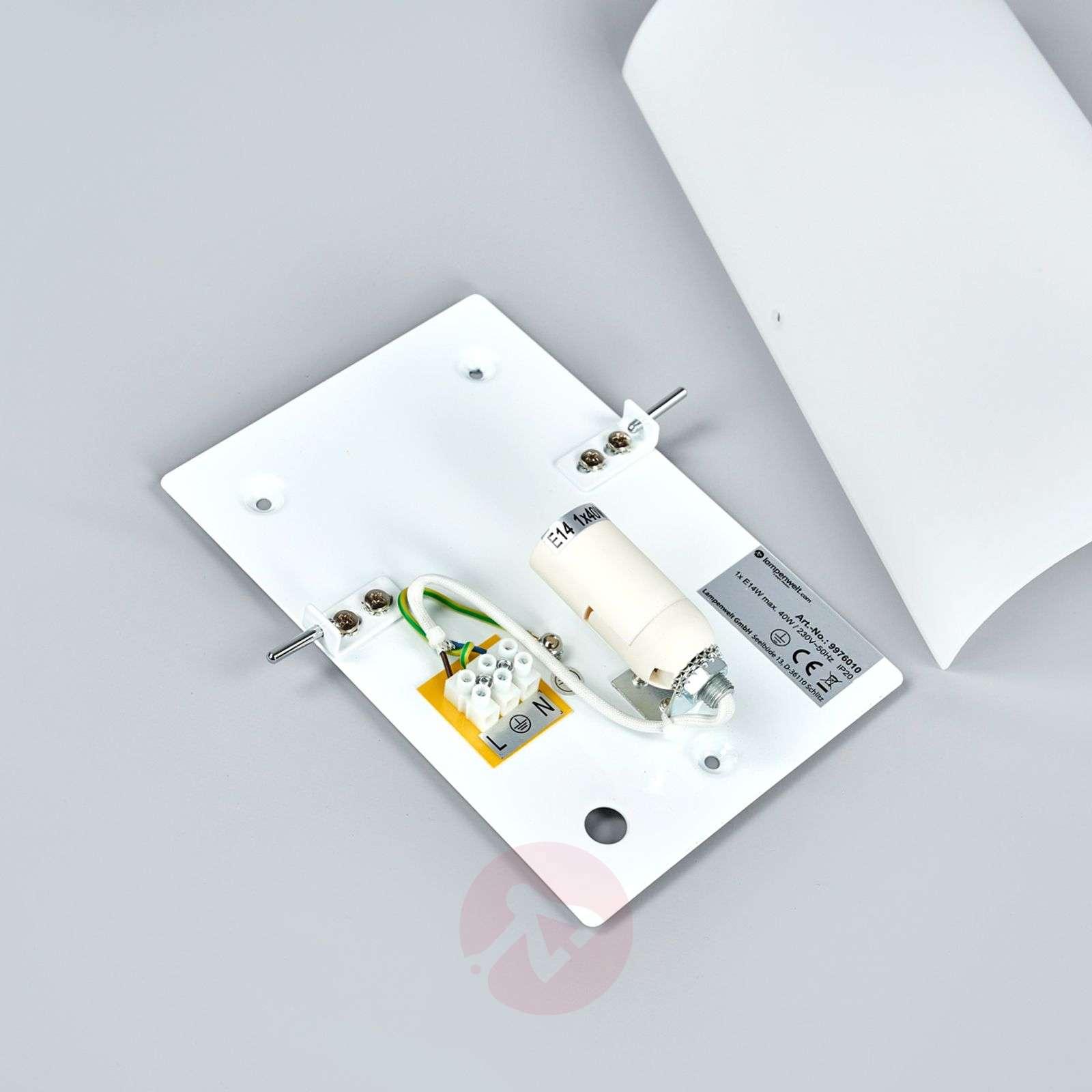 Puolipyöreä lasinen seinävalaisin Sidra-9976010-01