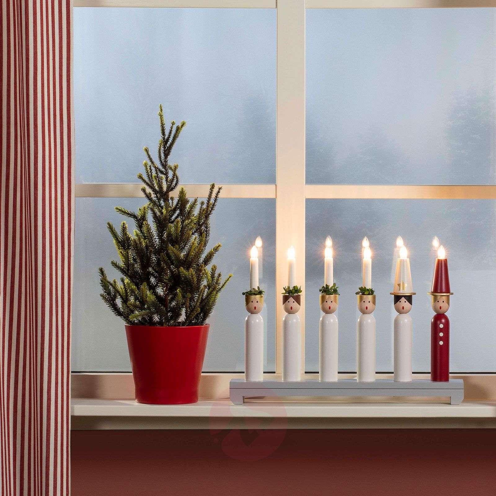 Puukynttelikkö Lucia, 6-lamppuinen-5524933-01