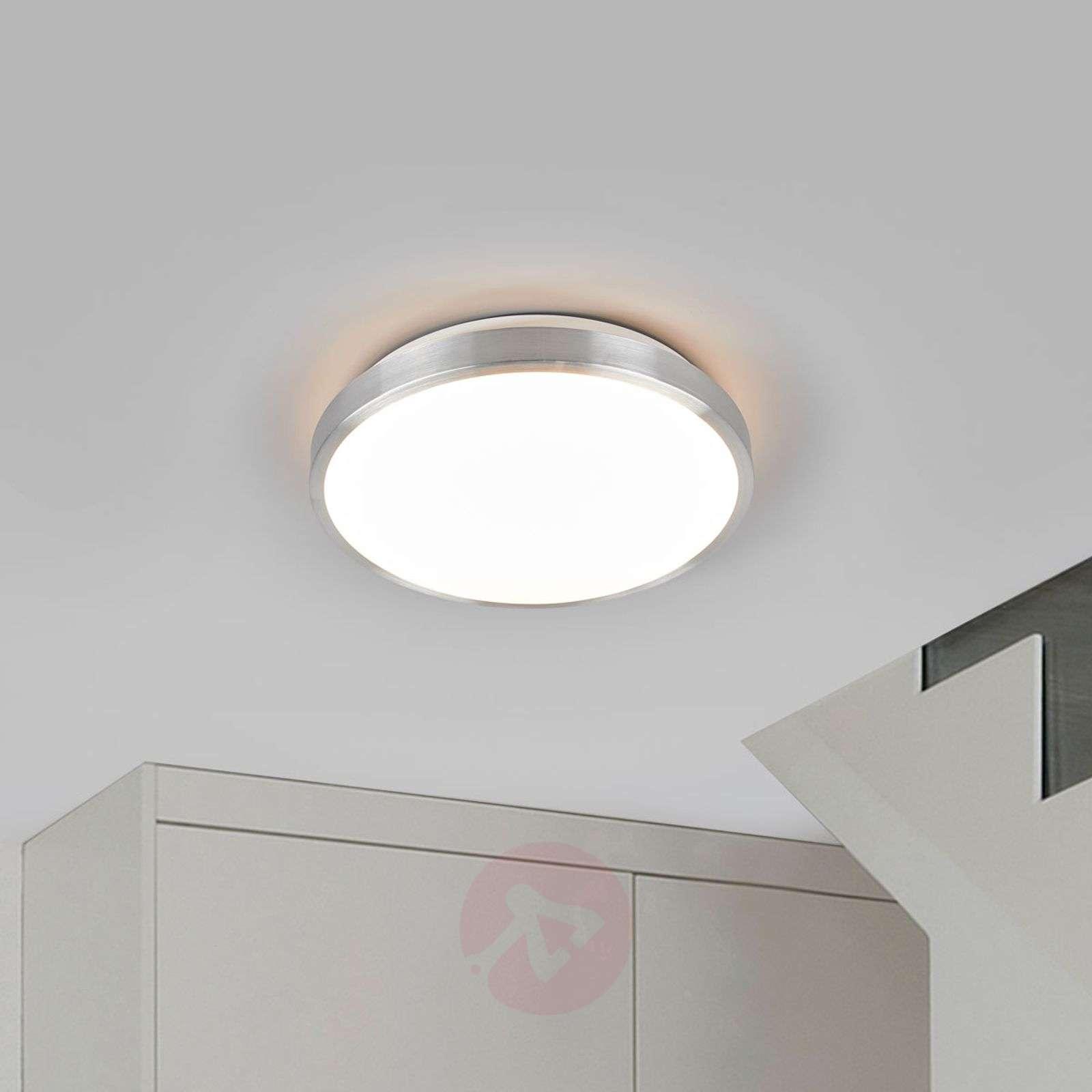 Pyöreä Jasmin-LED-kattovalaisin alumiinikehyksellä-9974017-01