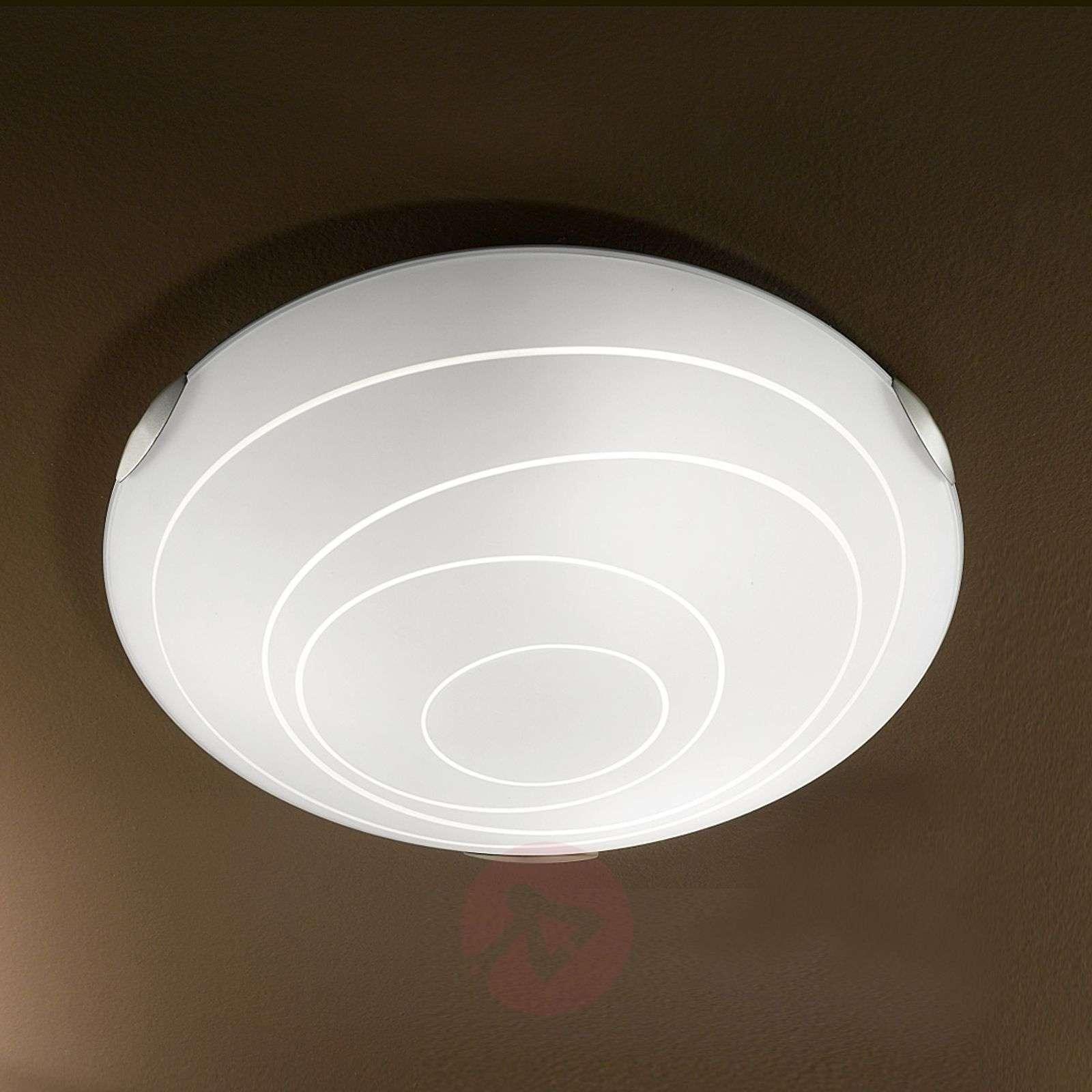 Pyöreä KENT-kattovalaisin valkoinen-3502199-01