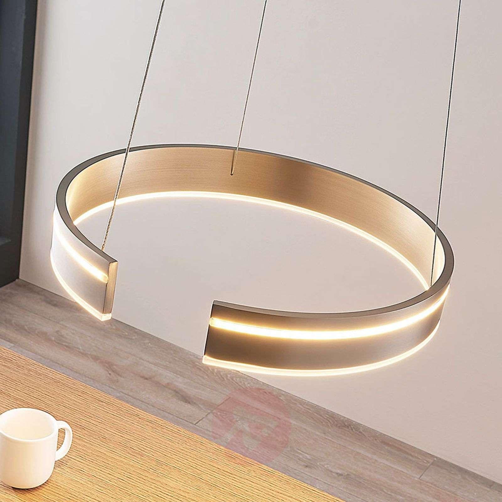Pyöreä LED-riippuvalaisin Haga, himmen., kytkin-9624085-02