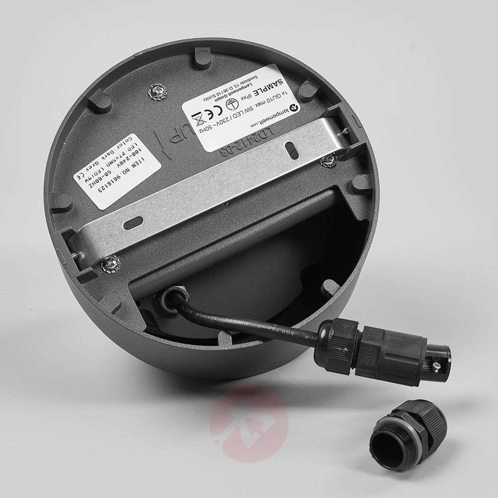Pyöreä LED-ulkoseinälamppu Fjodor-9618123-02
