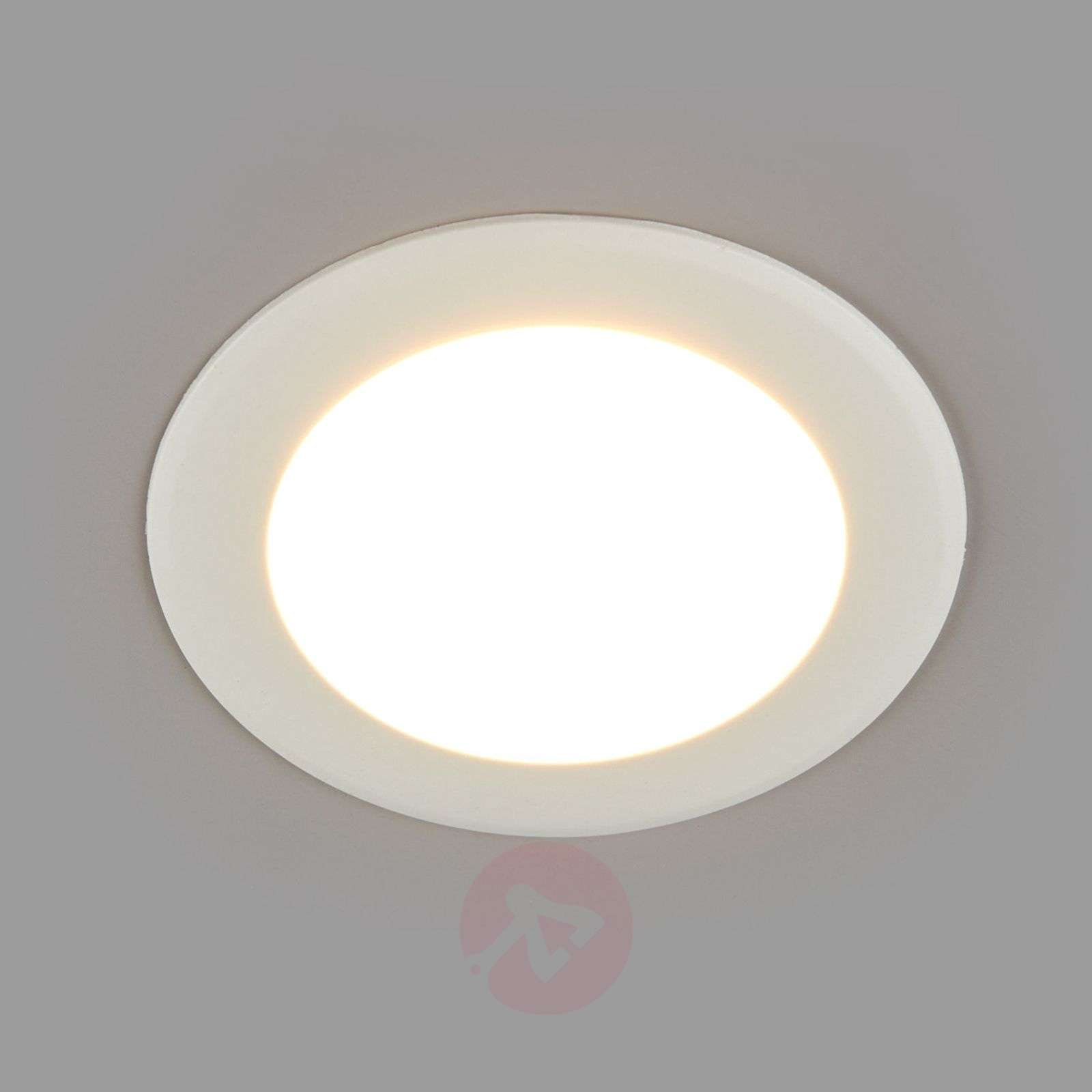 Pyöreä upotettava LED-valaisin Arian, 9,2 cm 6W-9978008-05