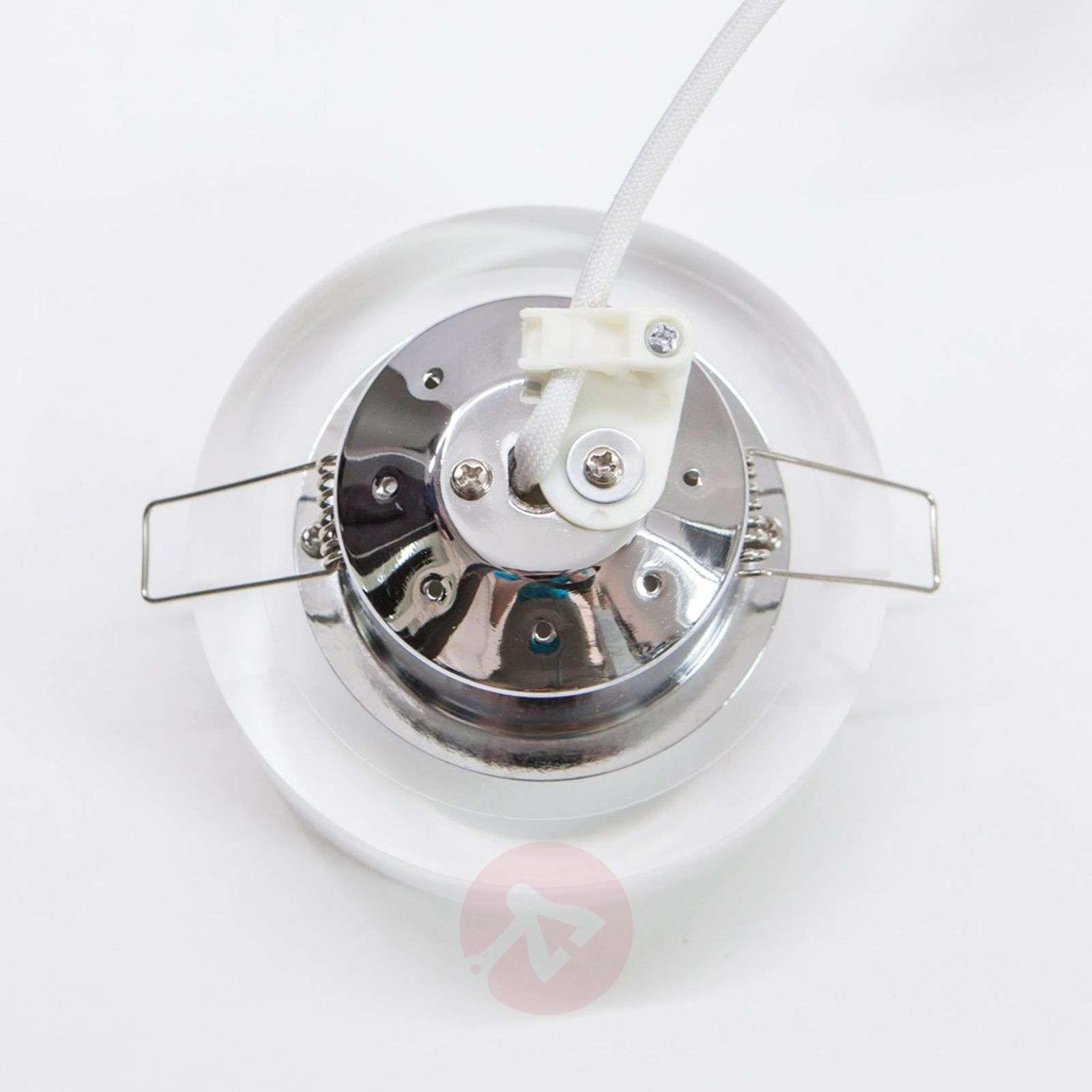 Pyöreä, upotettava Sara LED-valaisin, akryyliä-9970098-02