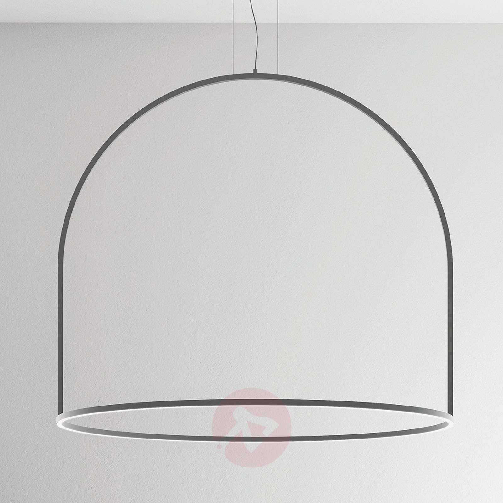 Pyöreästi muotoiltu U-Light-LED-riippuvalaisin-1088120-01
