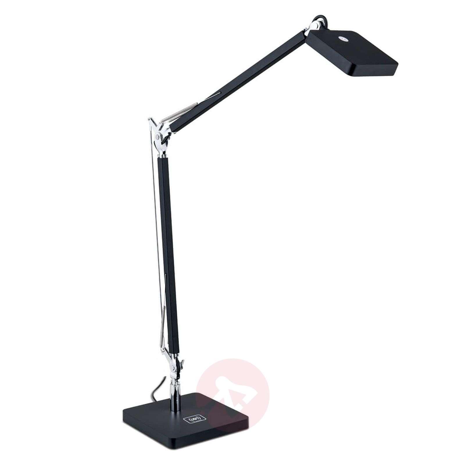 Qi-ladattava LED-työpöytävalaisin Dave-7255319X-01