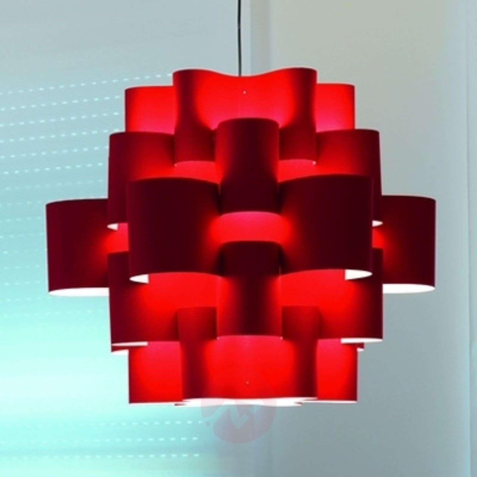 Red Sun – näyttävä riippuvalaisin lämpimän pun.-5501087-01