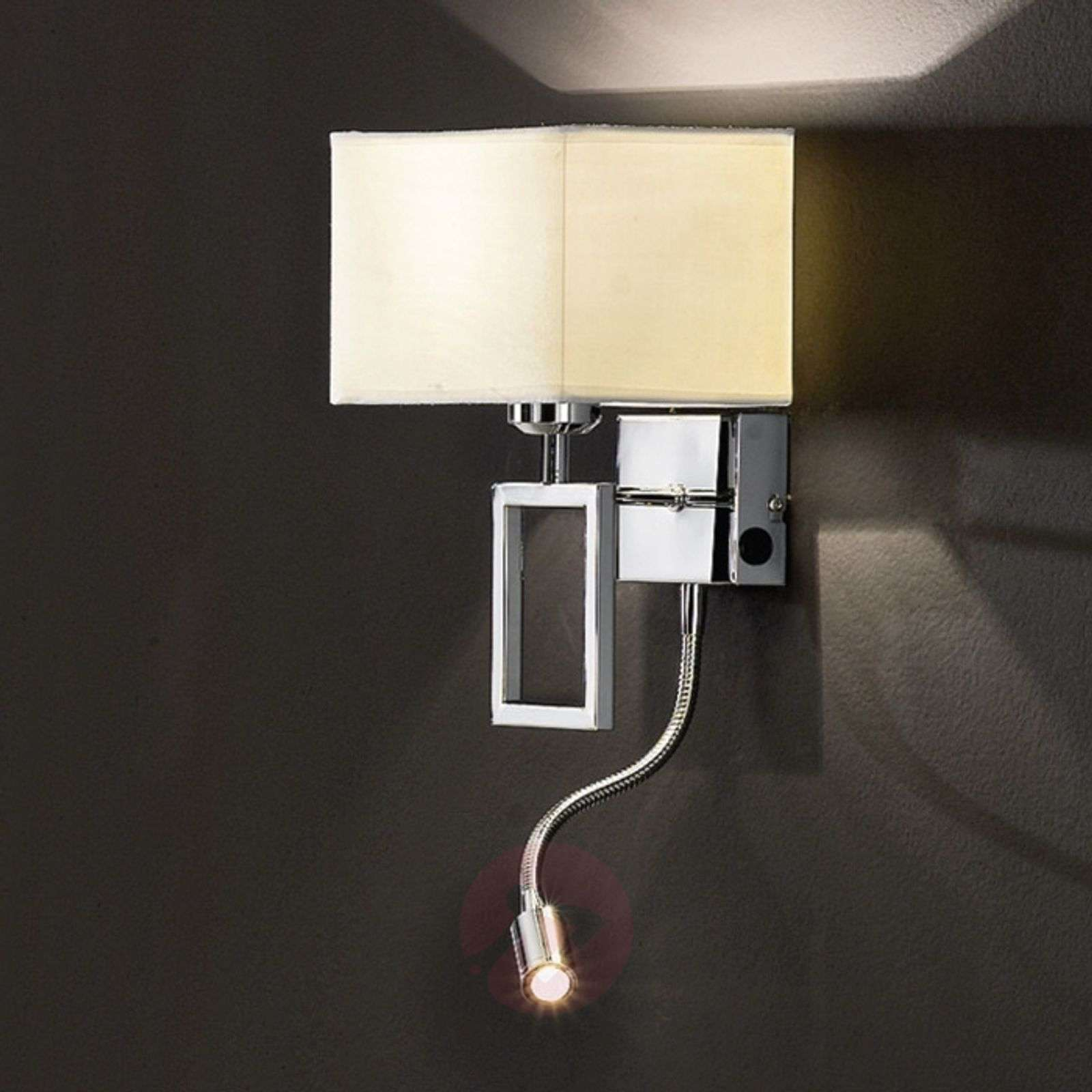 Renee-seinävalaisin LED-lukulampulla-7254458-01