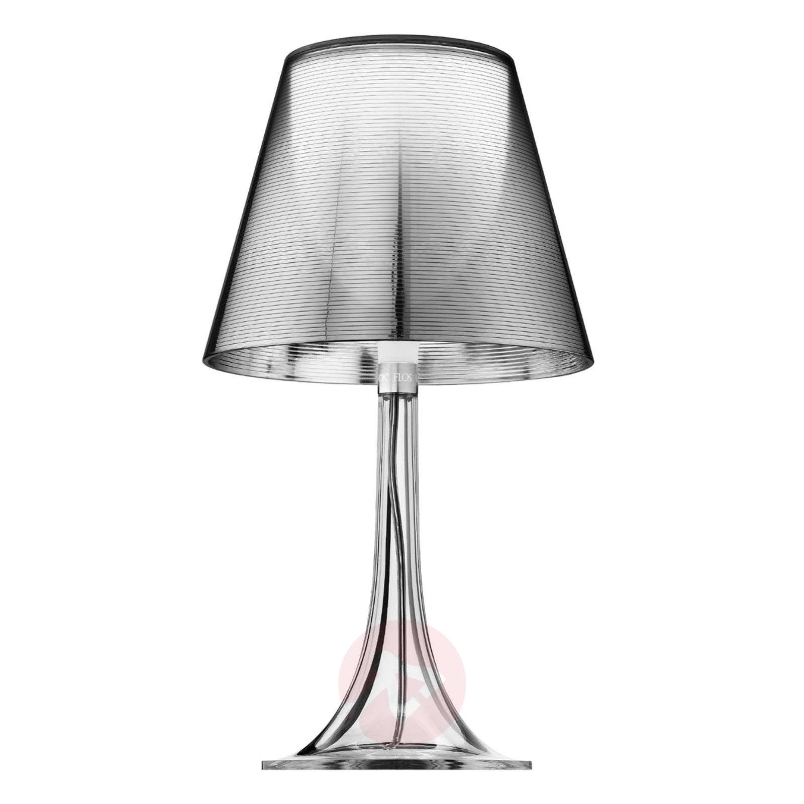 Retrodesign-pöytävalaisin MISS K, hopea-3510015-02