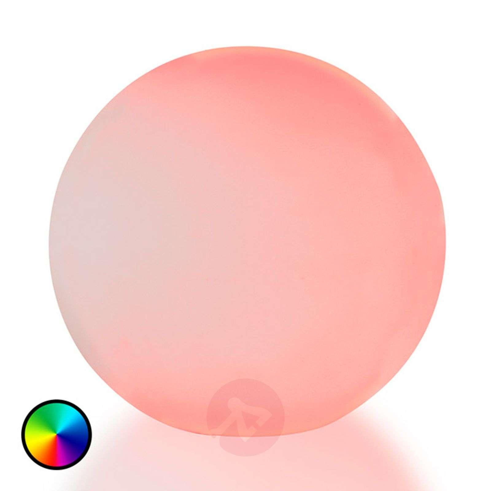 RGB-LED:llä varustettu pihakoristepallo Mina-5000246-02