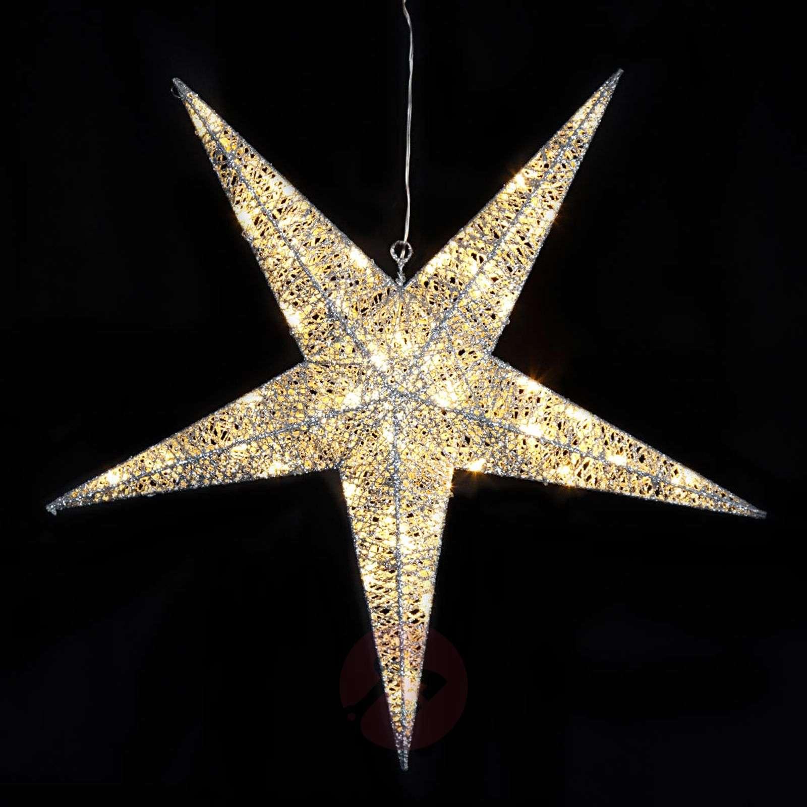 Riippuva tähti Sequini LED-koriste ulkotiloihin-1523471-01