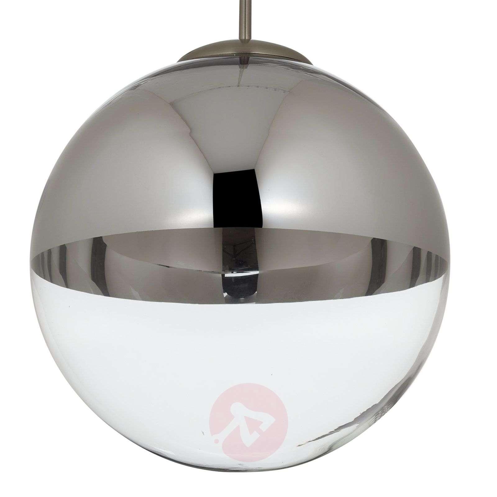 Riippuvalaisin Ravena lasikuulilla, 3-lamppuinen-4018146-02