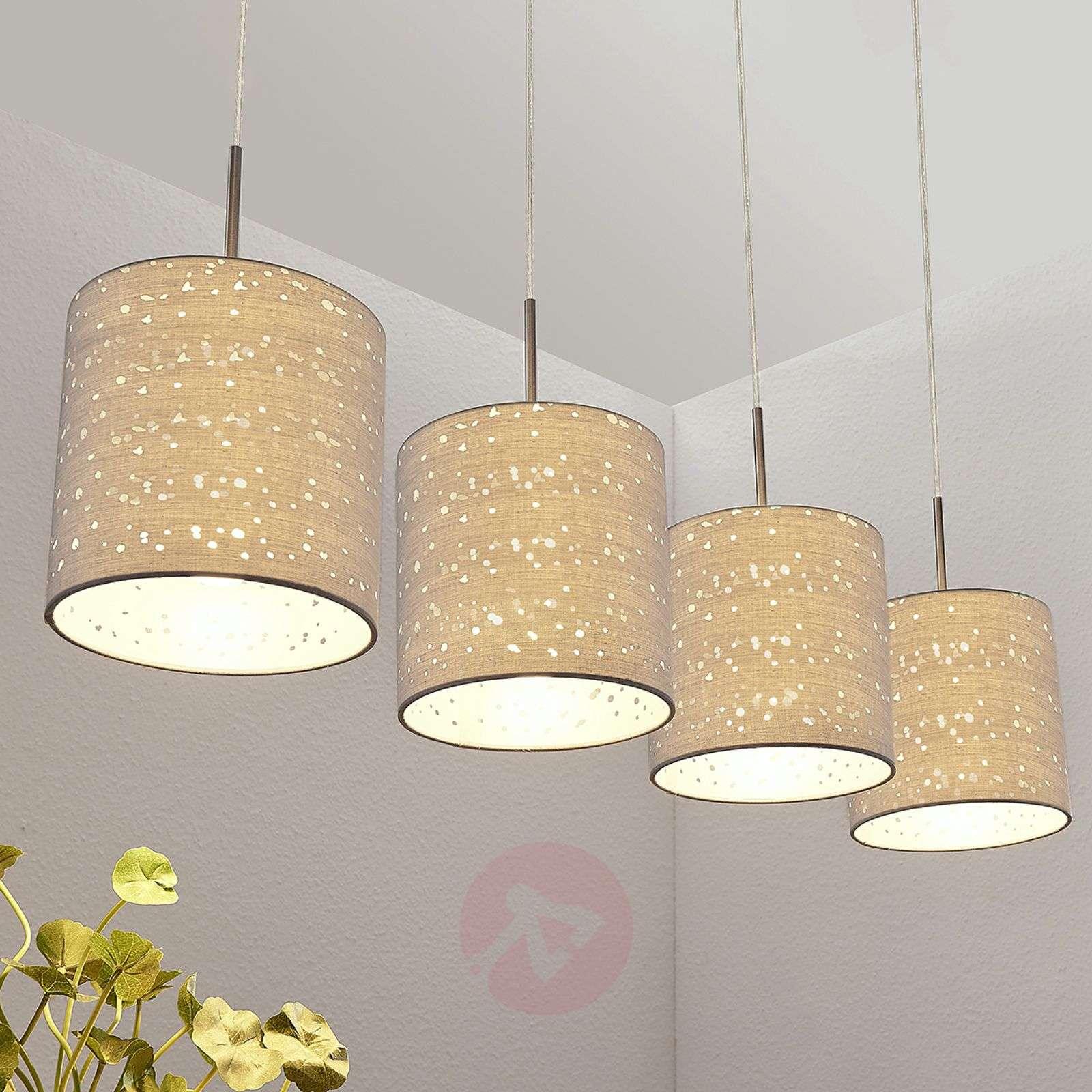 Riippuvalaisin Umma, 4-lamppuinen, harmaa-9624194-01