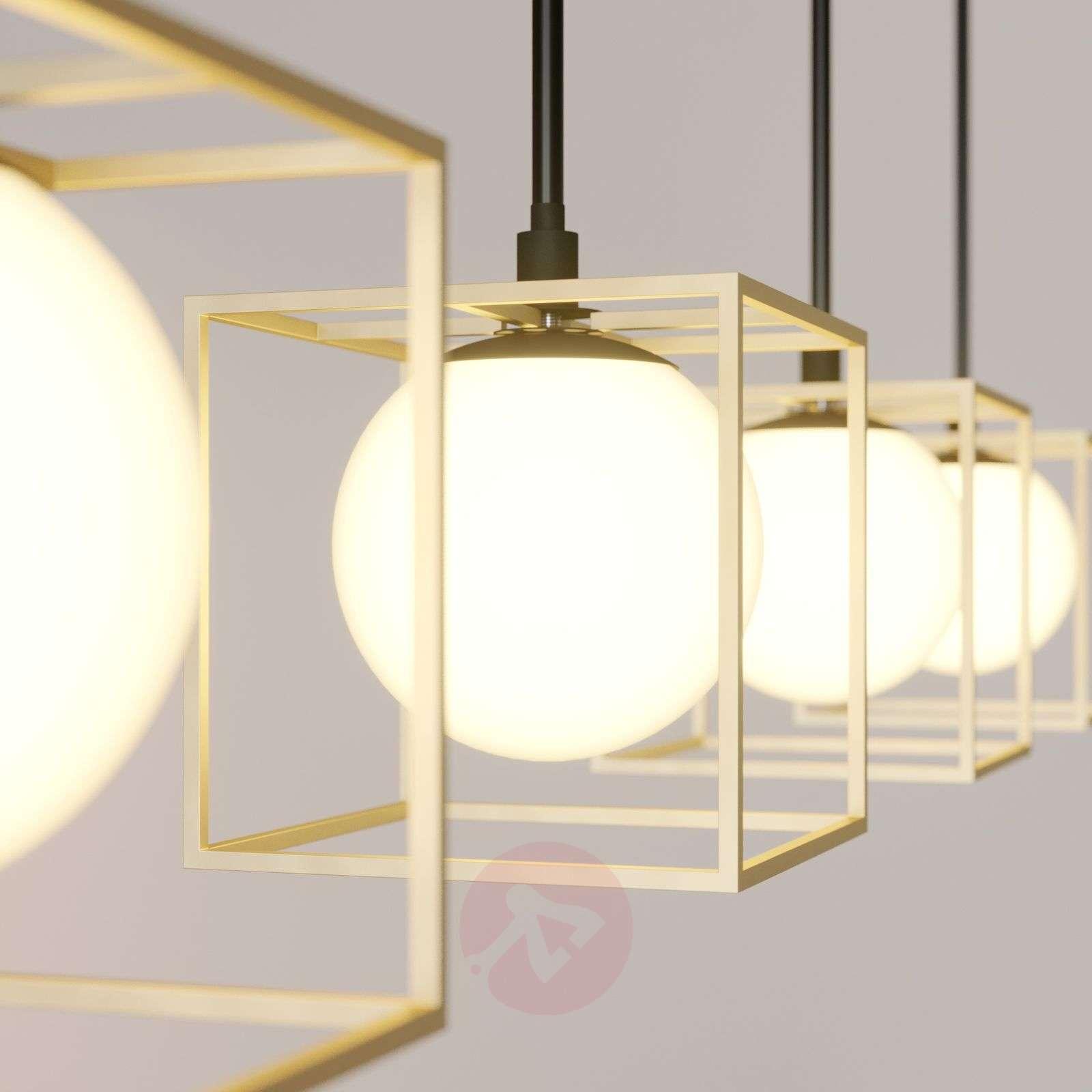 Riippuvalo Aloam, häkit ja lasipallot, 4-lampp.-9624443-02
