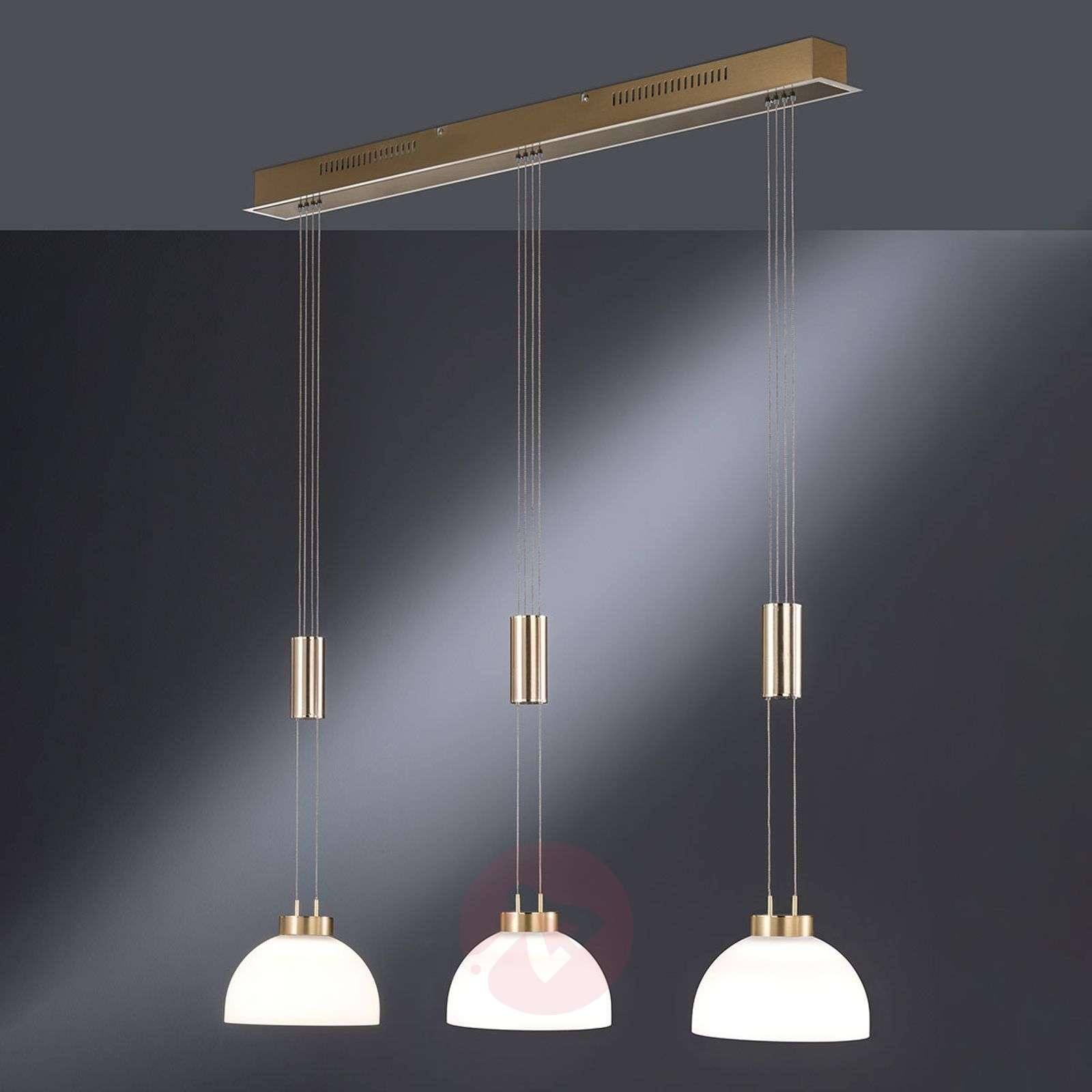 Riippuvalo Shine korkeussäädettävä 3 lamppua-4581553-01