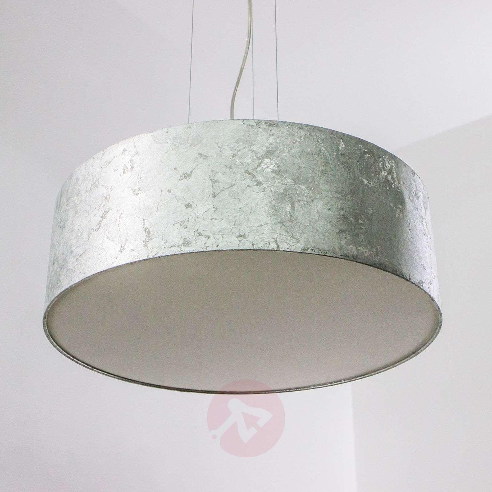 Riipusvalaisin Aura hopeanvärisellä varjostimella-6722221-09