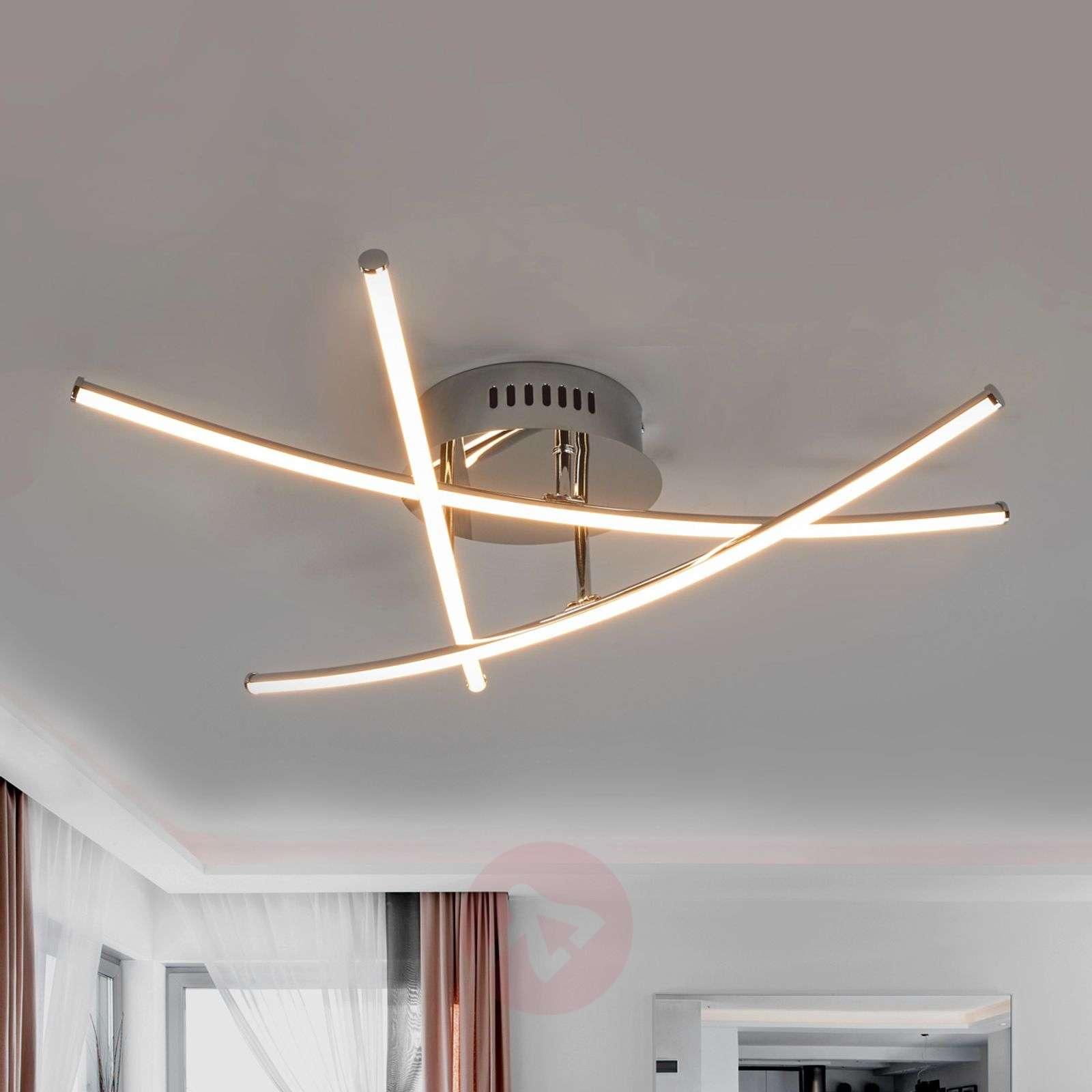 Ristipuikot kaunis LED-kattovalaisin Yael-9639007-01