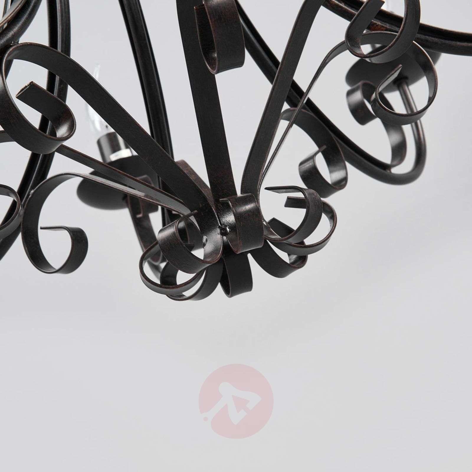 ROMA 8 maalaistalon tyylinen 8-osainen kattokruunu-4508090-01