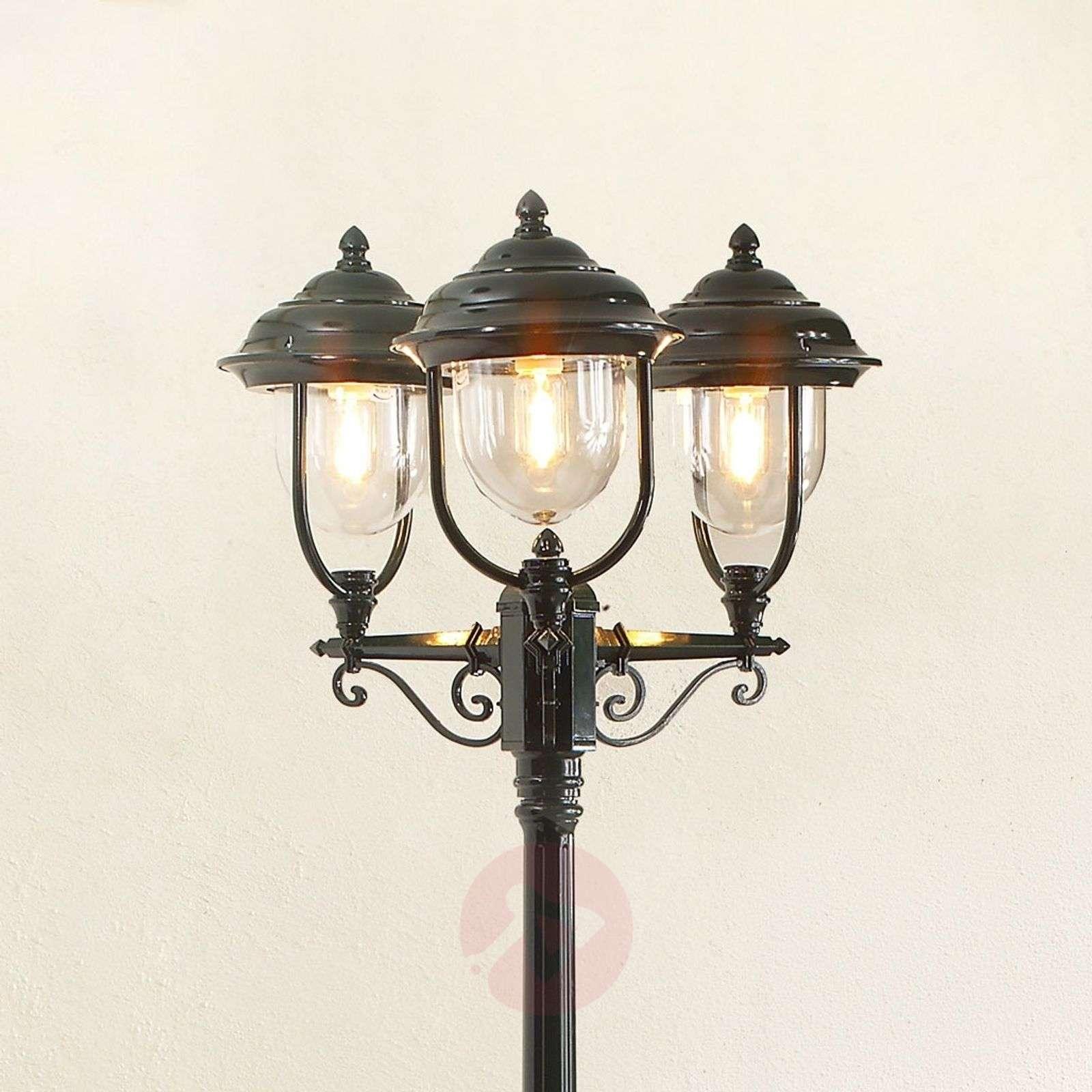 Romanttinen kolmilamppuinen kynttelikkö PARMA-5522157X-01