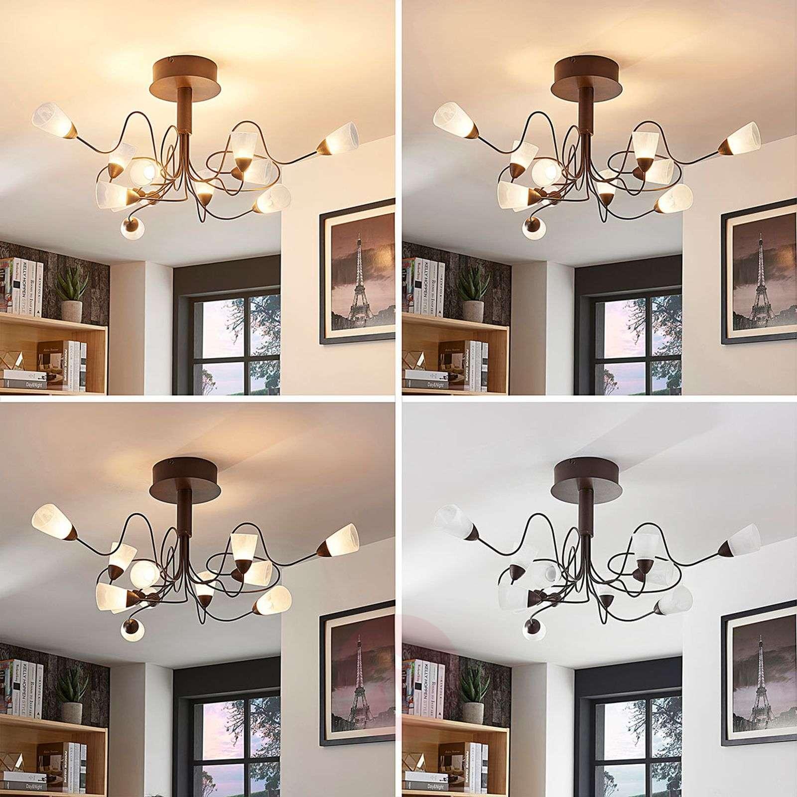Romanttinen LED-kattovalaisin Hannes-9624040-01