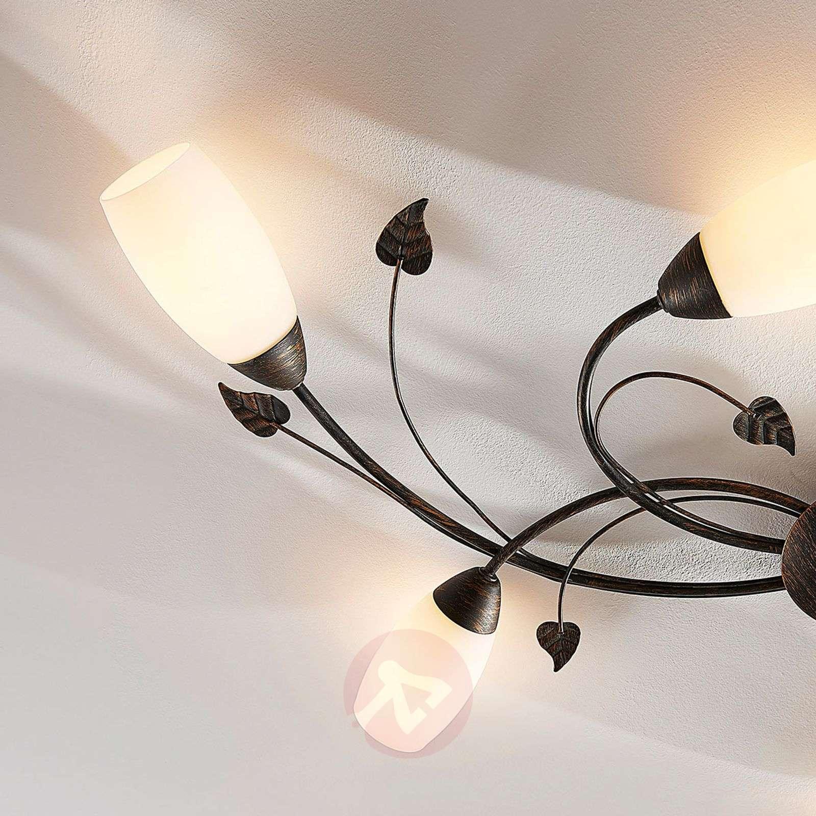 Romanttinen LED-kattovalaisin Stefania-9621467-01